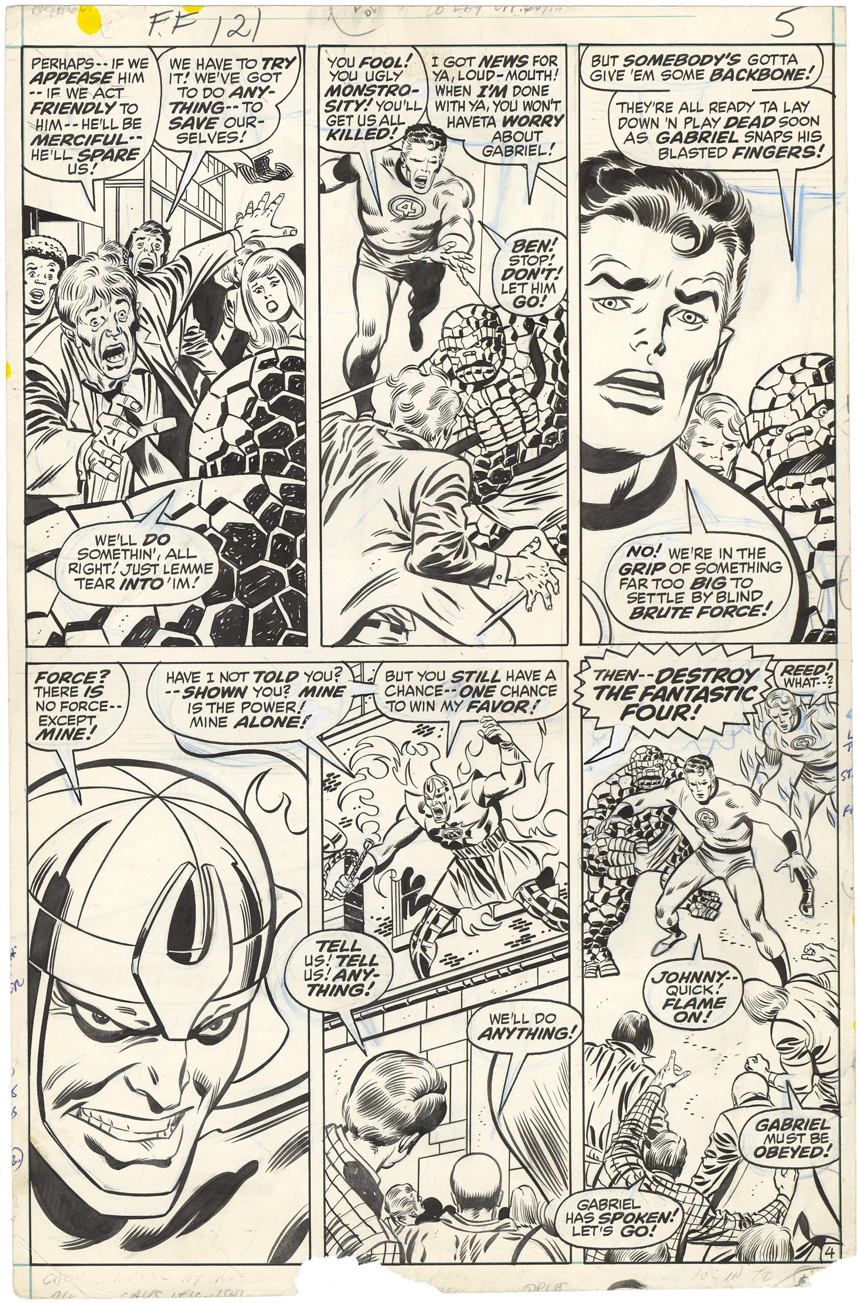 Fantastic Four #121 p4