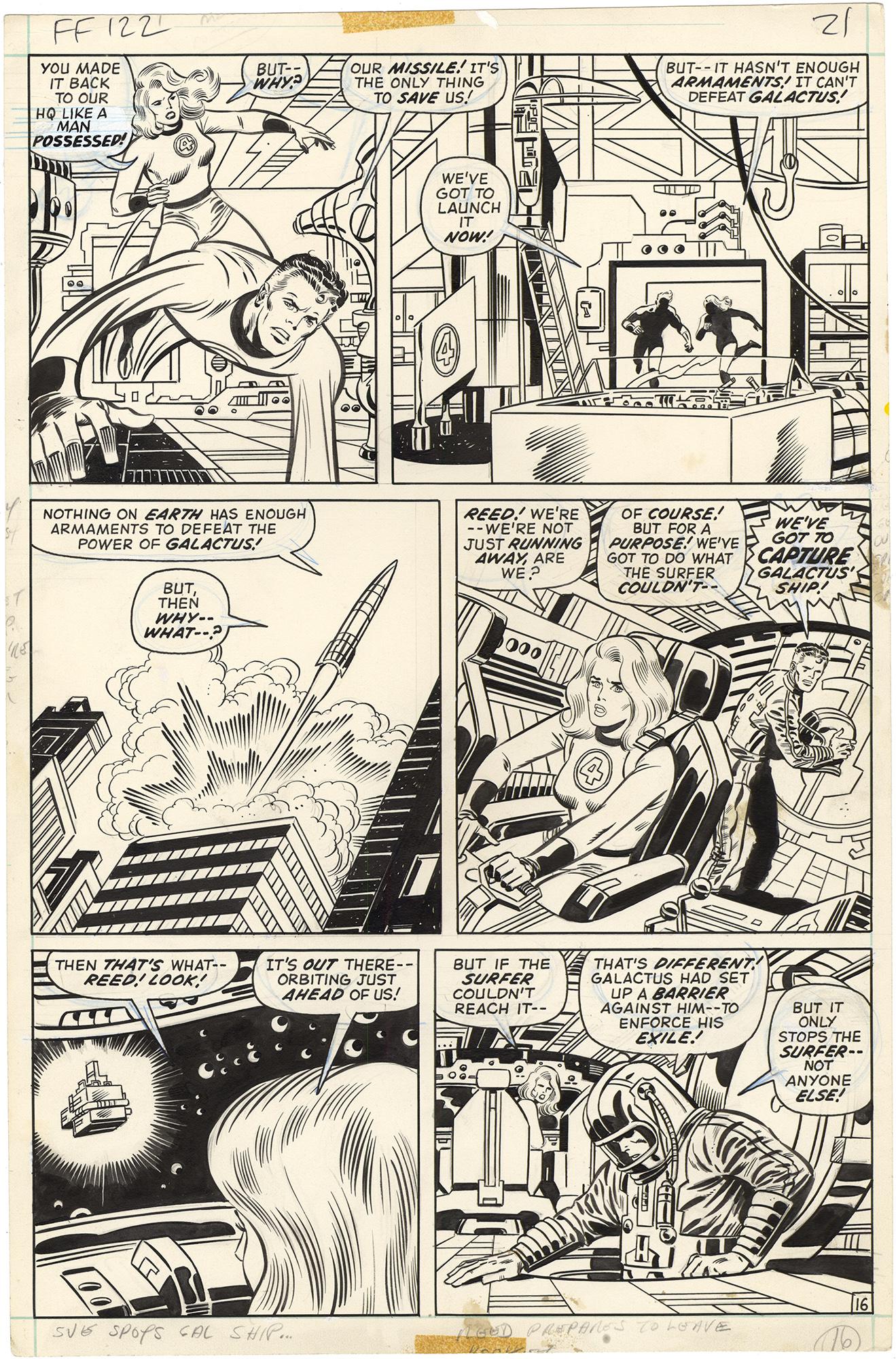 Fantastic Four #122 p16