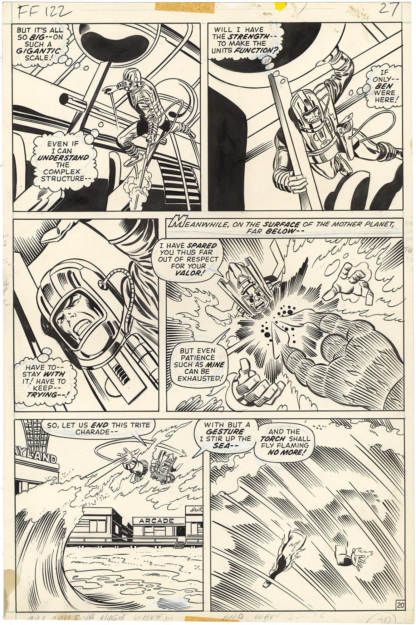Fantastic Four #122 p20