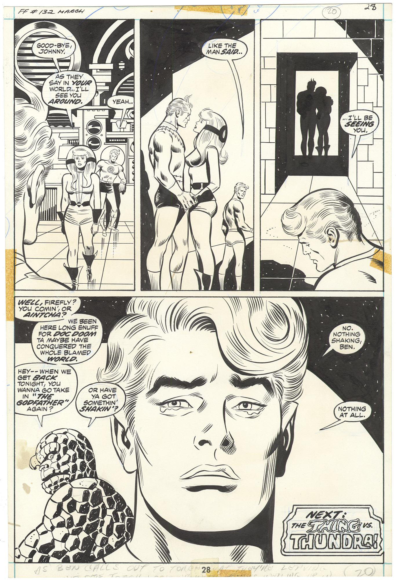 Fantastic Four #132 p28