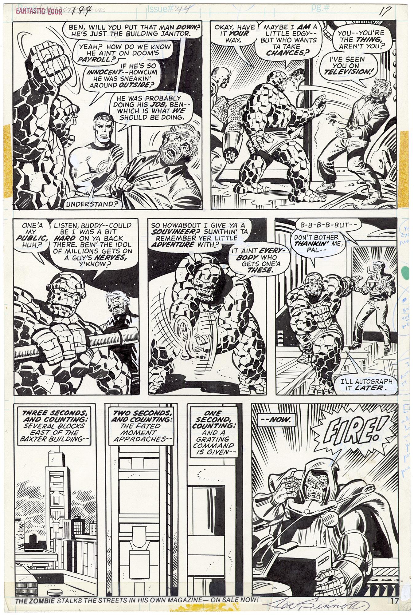 Fantastic Four #144 p17