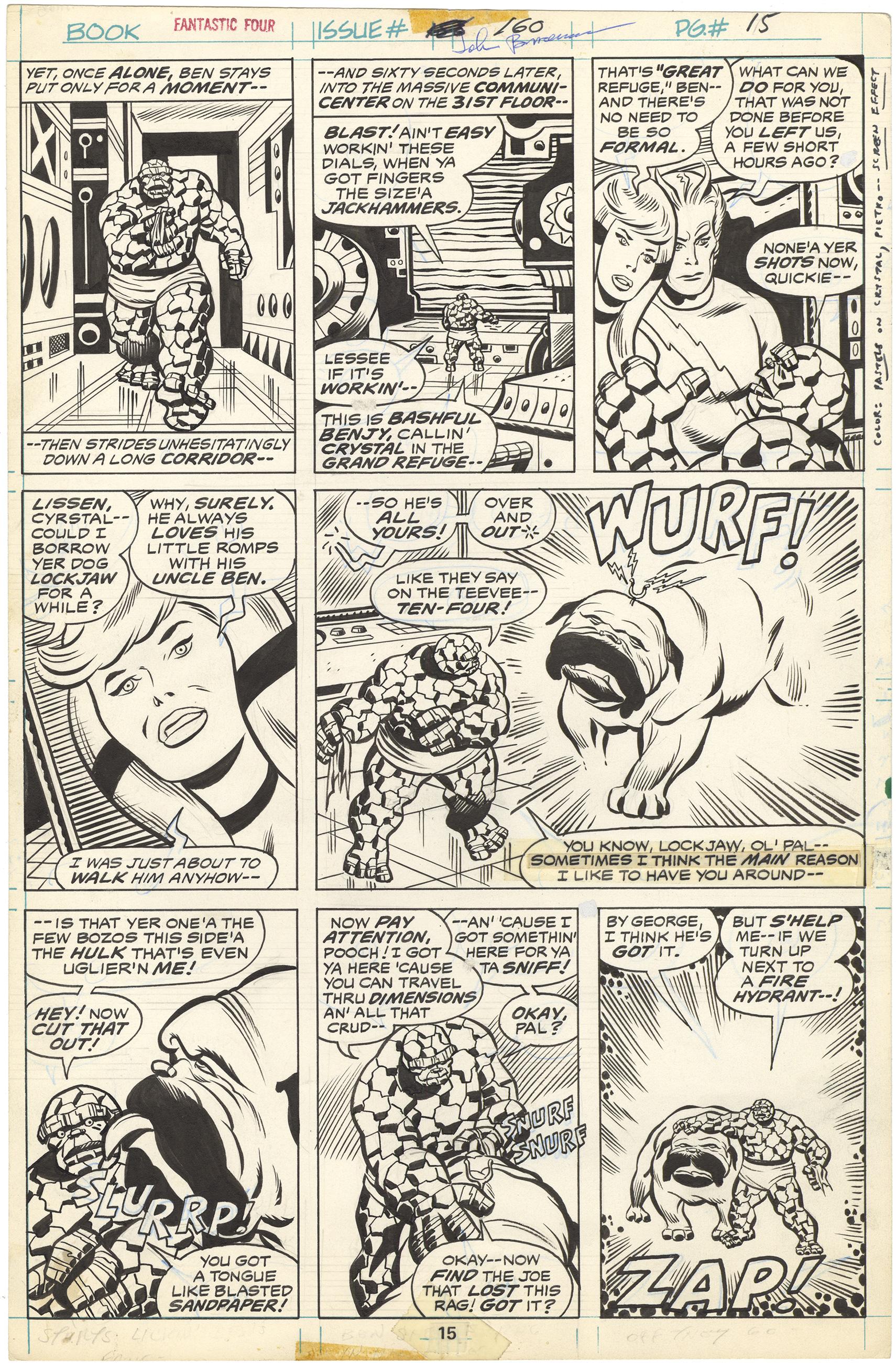 Fantastic Four #160 p15
