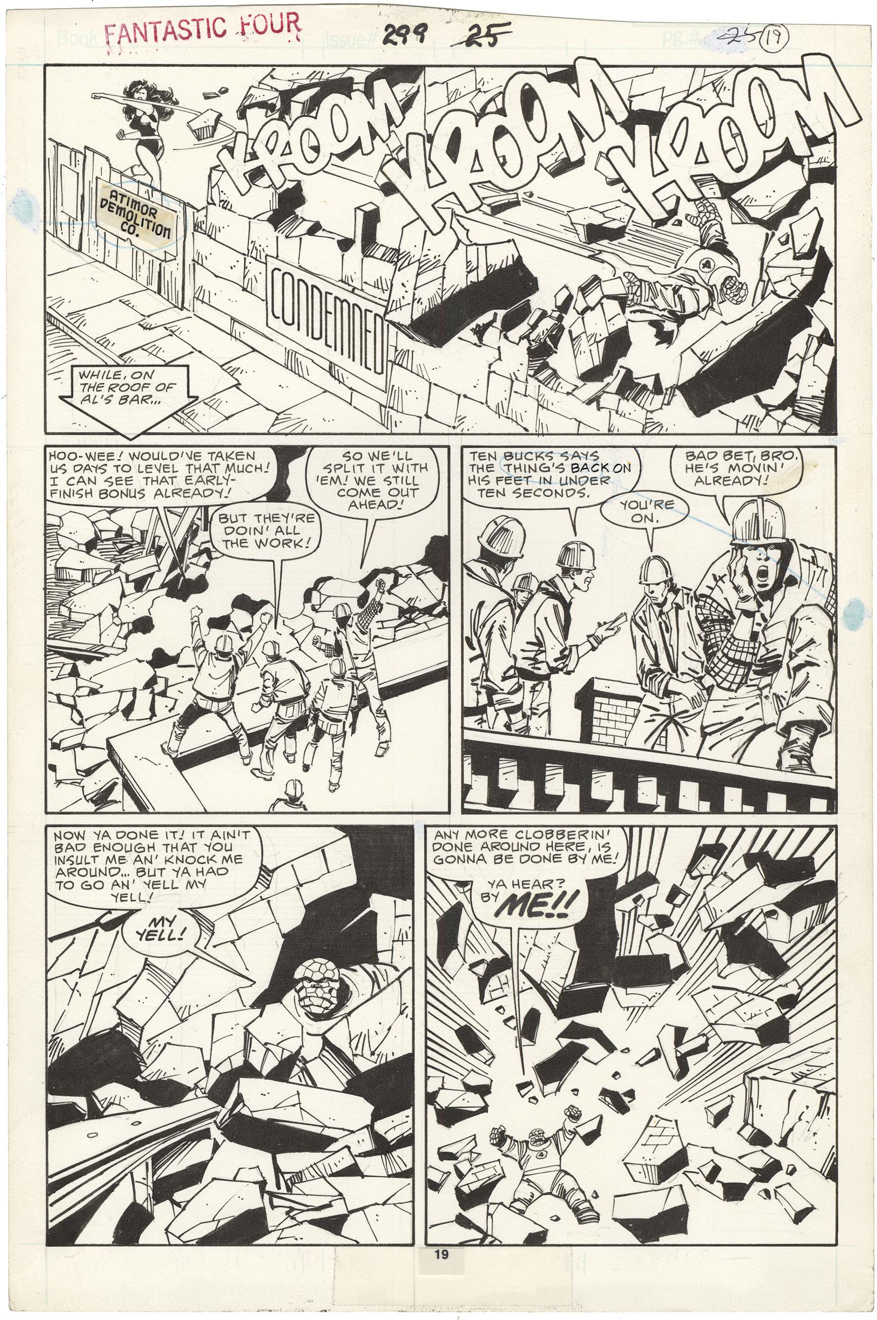 Fantastic Four #299 p19