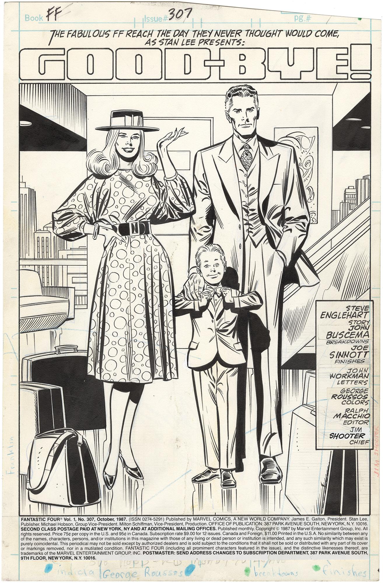 Fantastic Four #307 p1