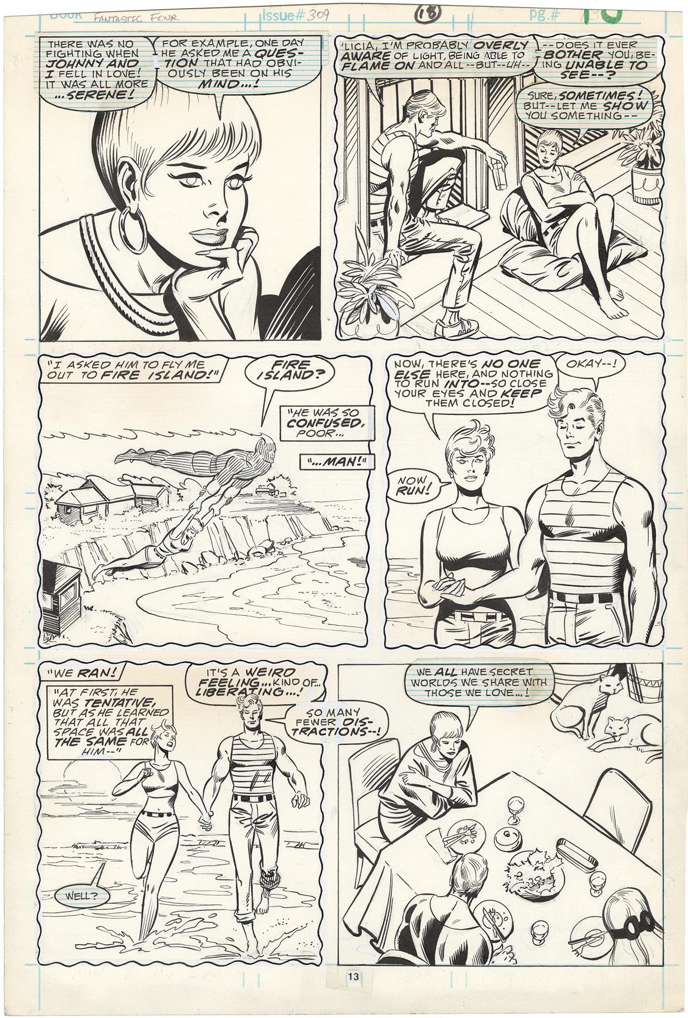 Fantastic Four #309 p13
