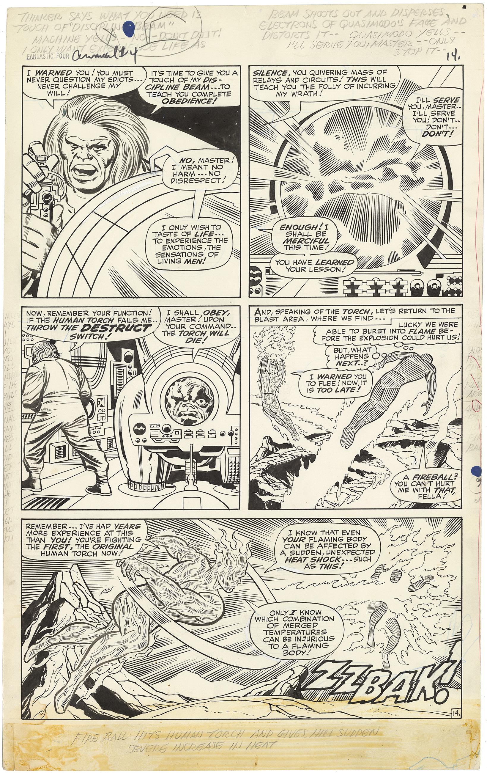 Fantastic Four Annual #4 p14