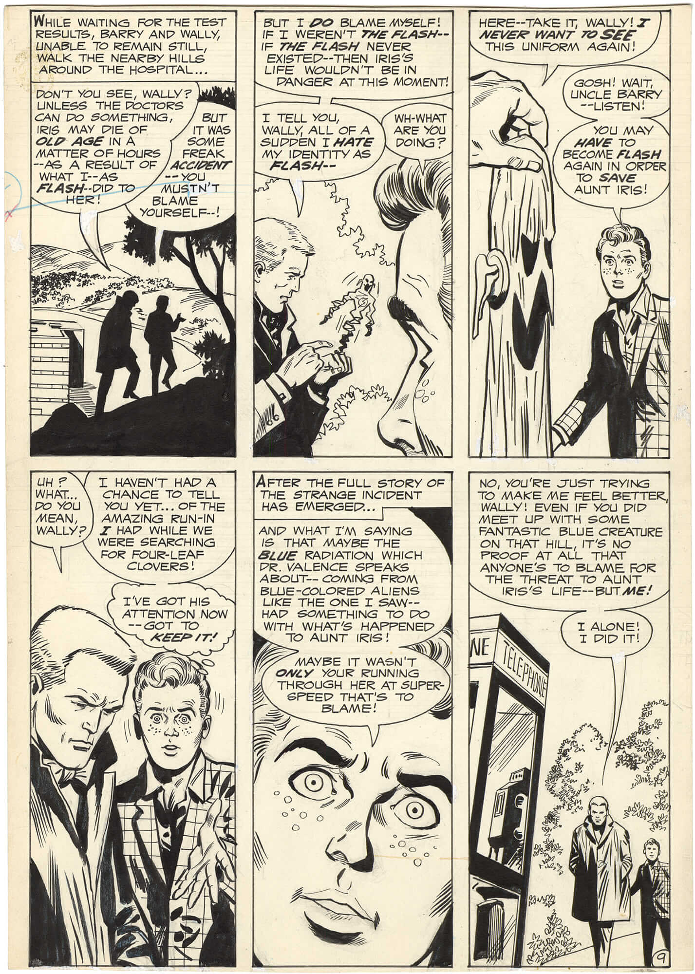 Flash #189 p9 (Kid Flash)