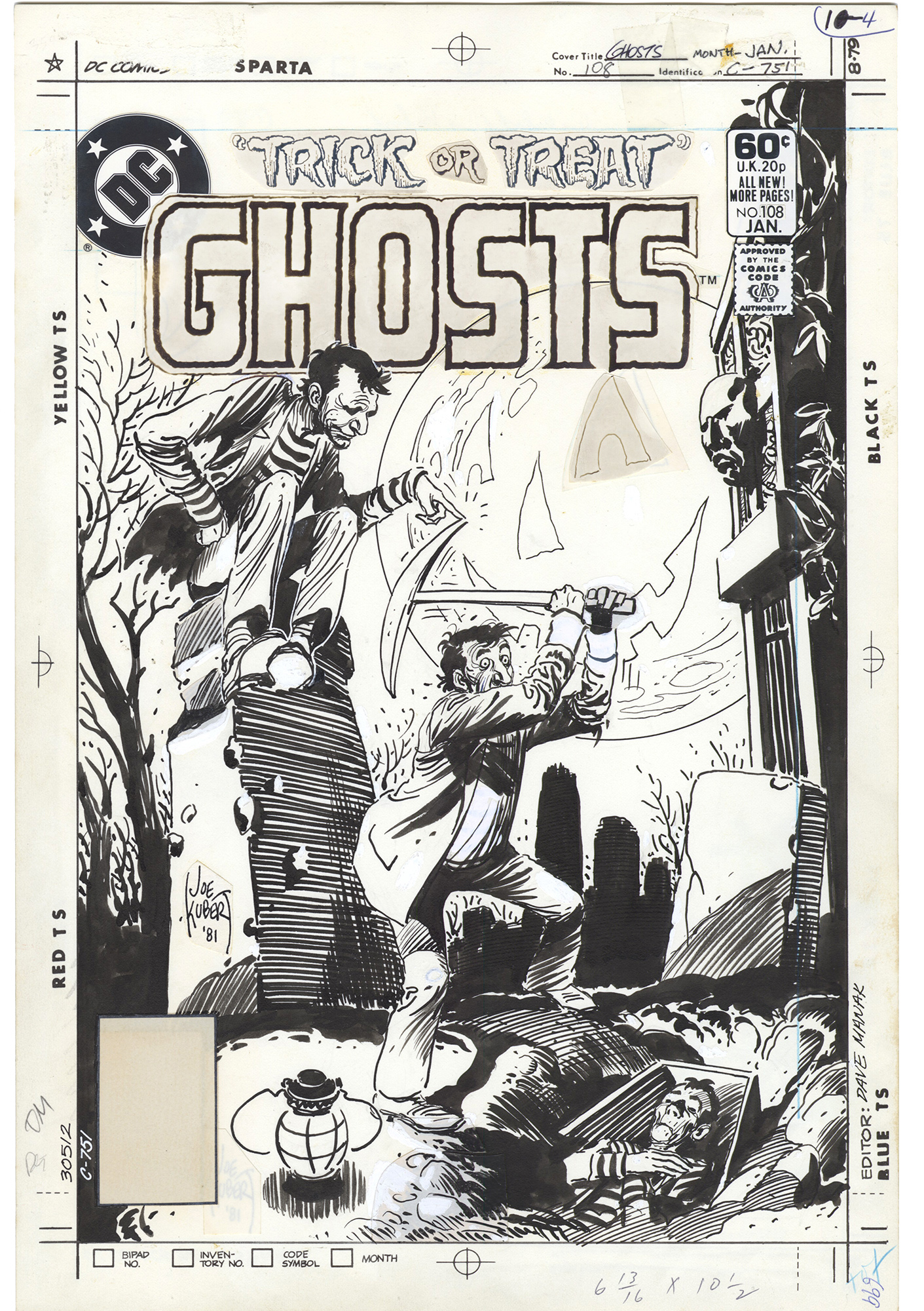 Ghosts #108 Cover