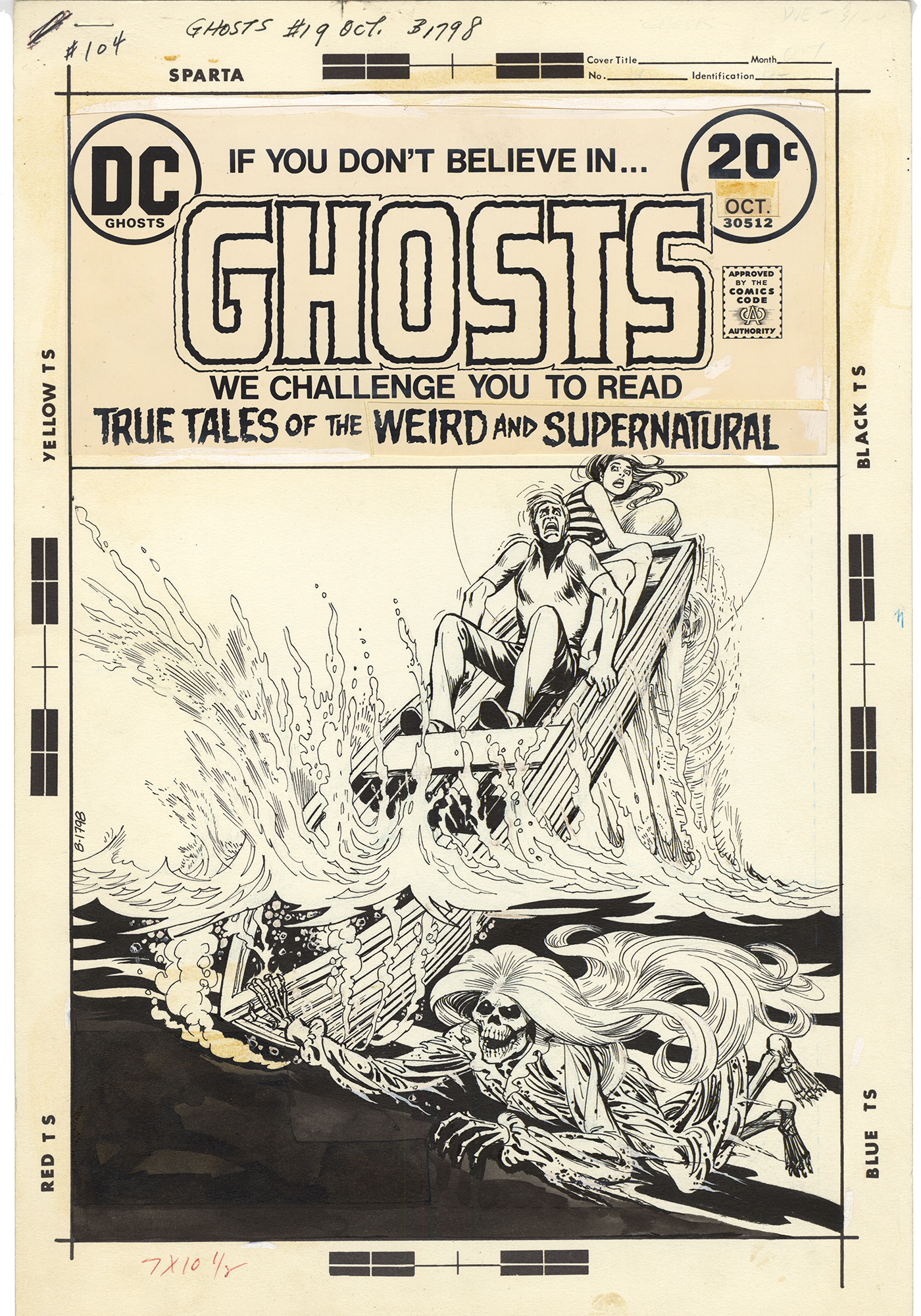 Ghosts #19 Cover
