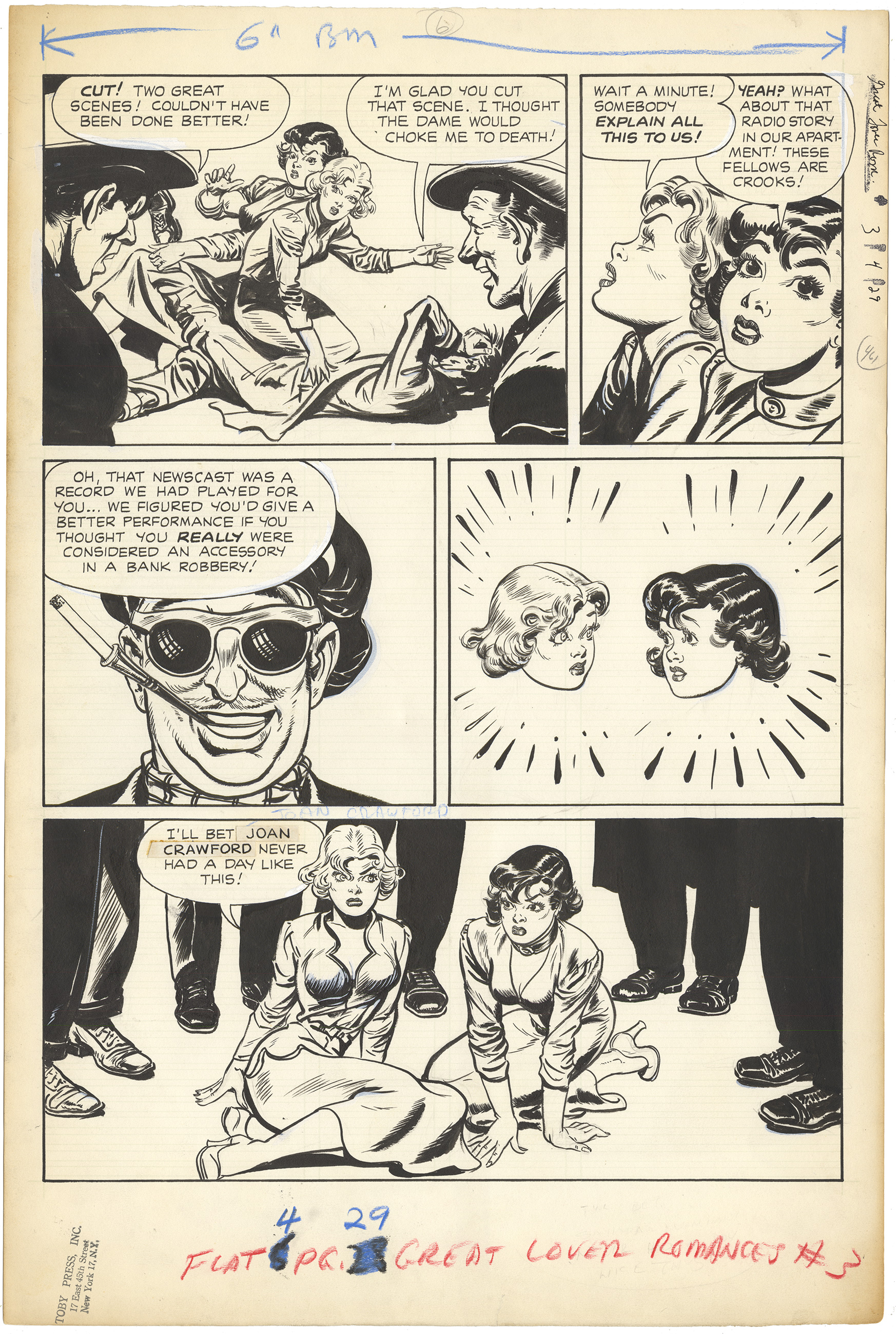 Great Lover Romances #3 p29 (Large Art)