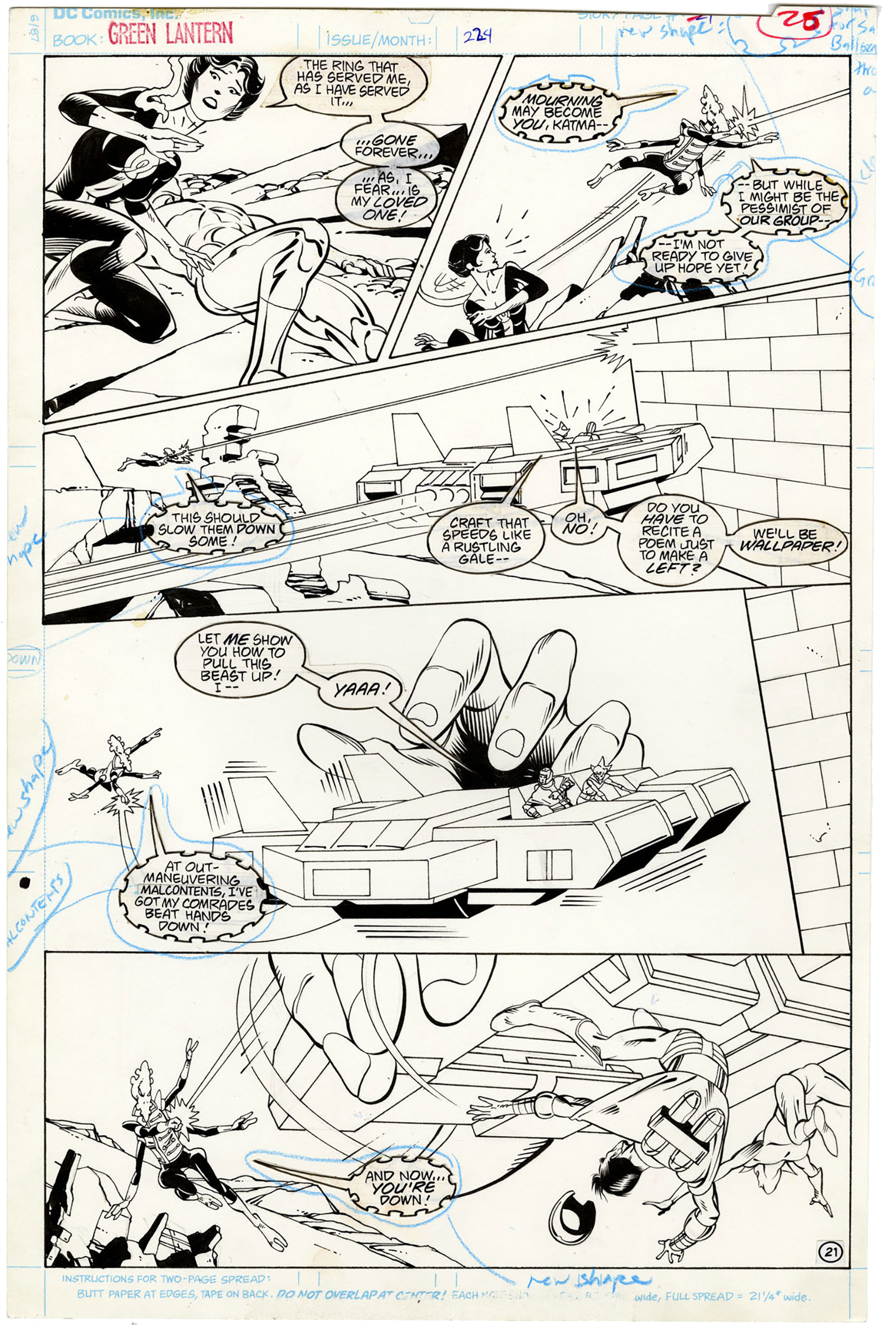 Green Lantern Corps #224 p21