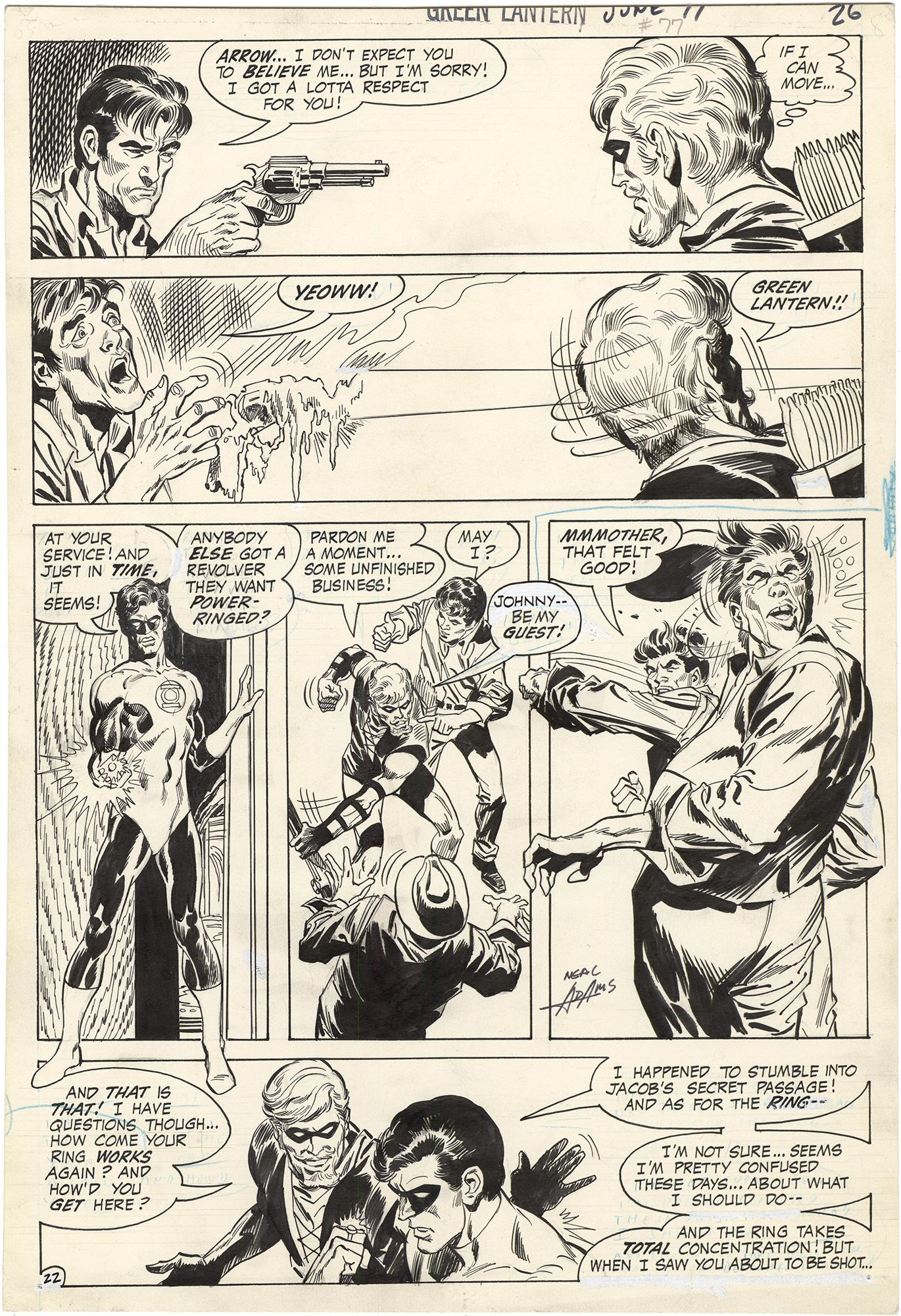 Green Lantern #77 p22