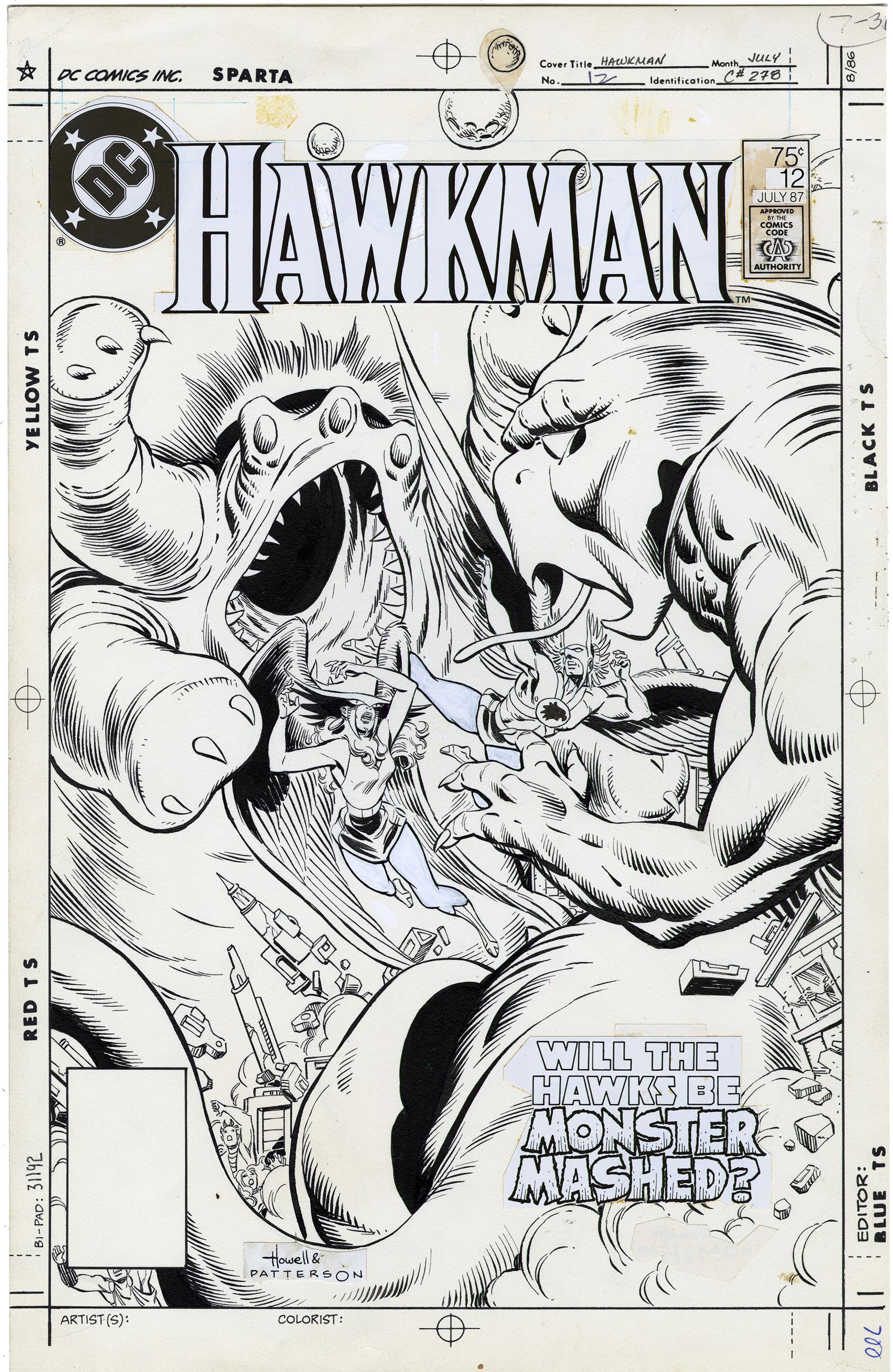 Hawkman #12 Cover
