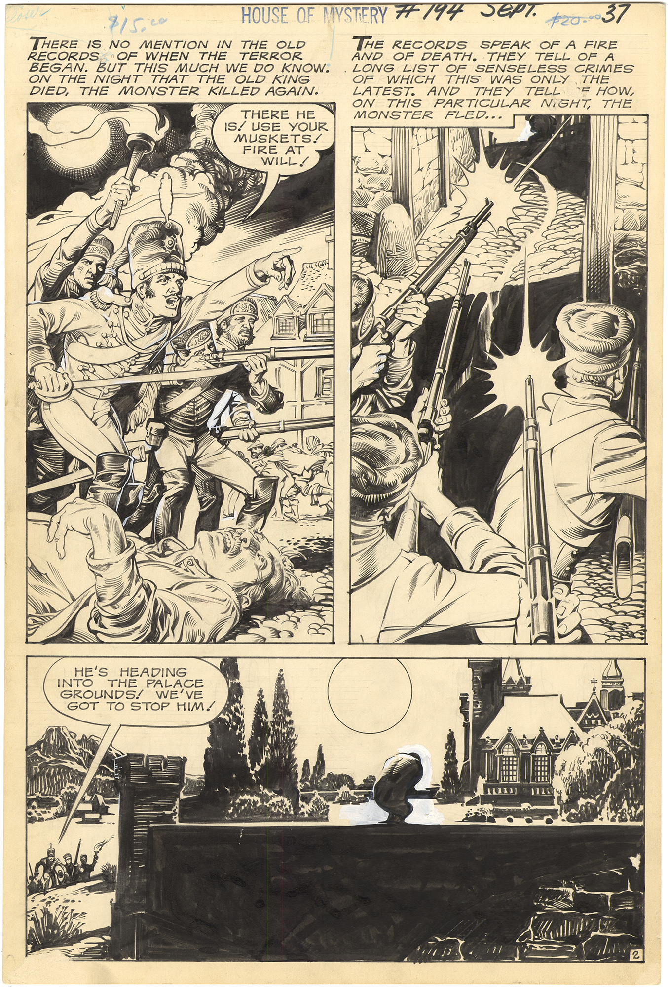 House of Mystery #194 p2