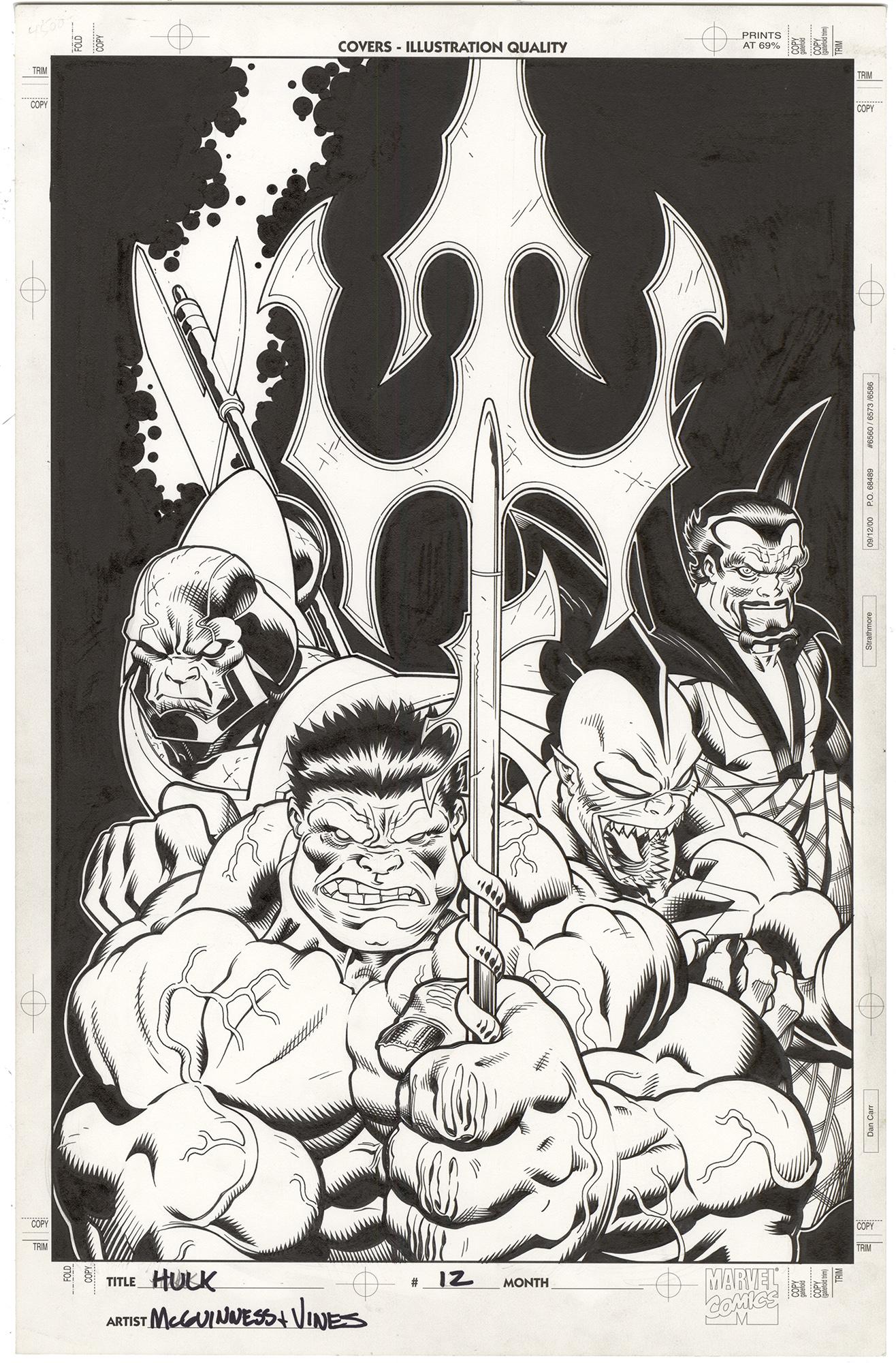 Hulk #12 Cover