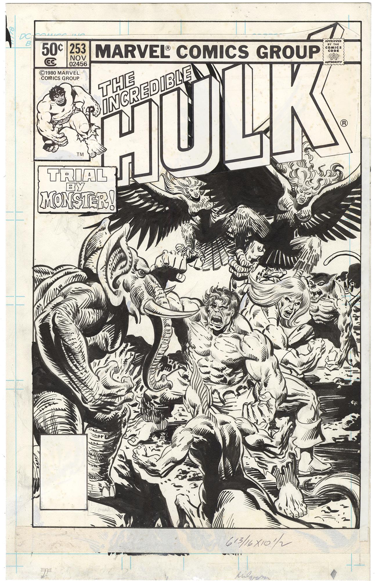 Incredible Hulk #253 Cover