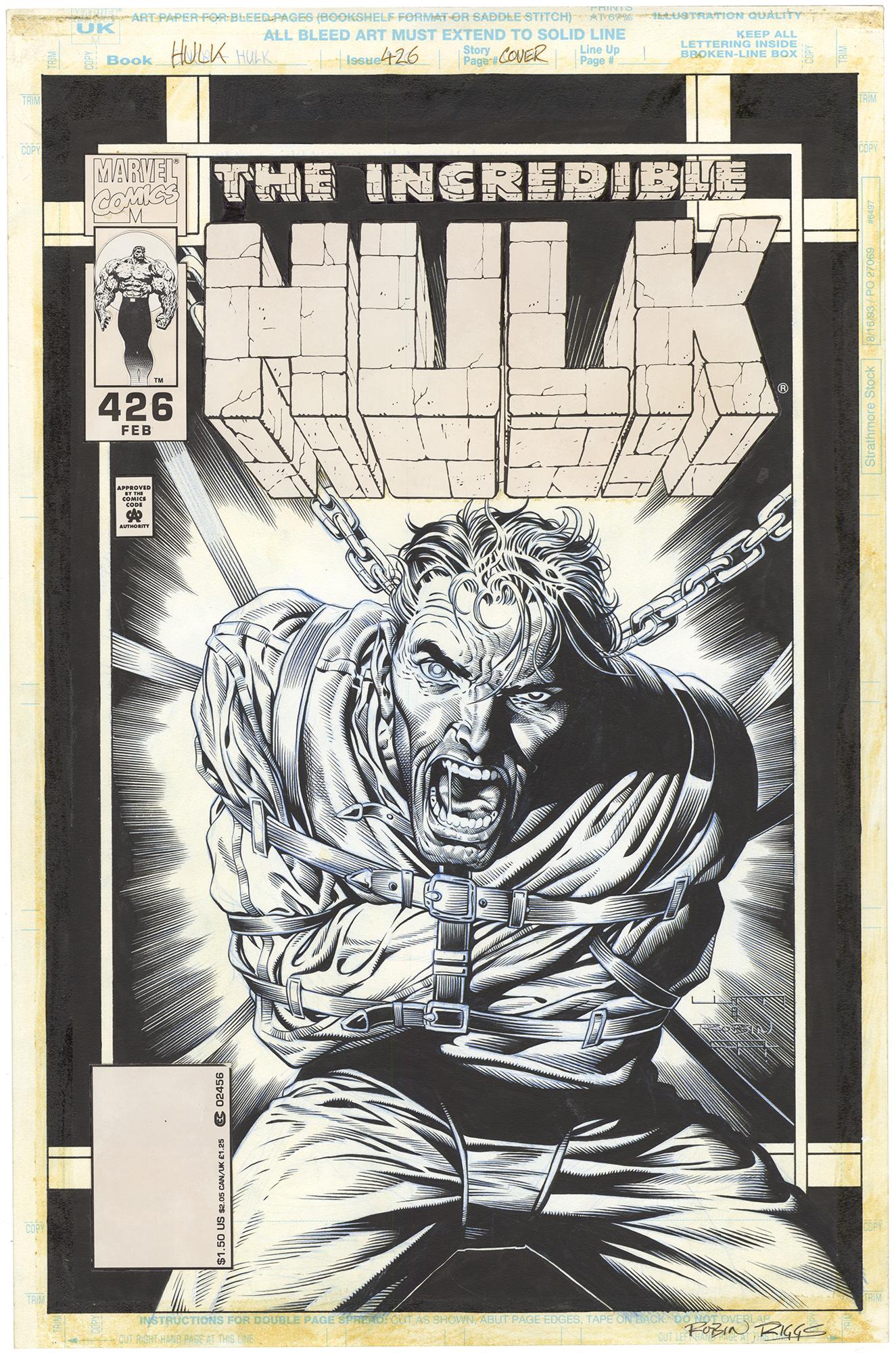 Incredible Hulk #426 Cover