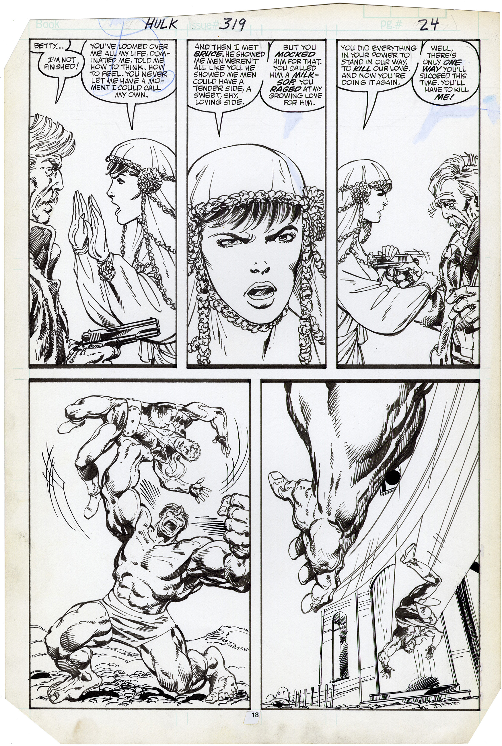 Incredible Hulk #319 p18