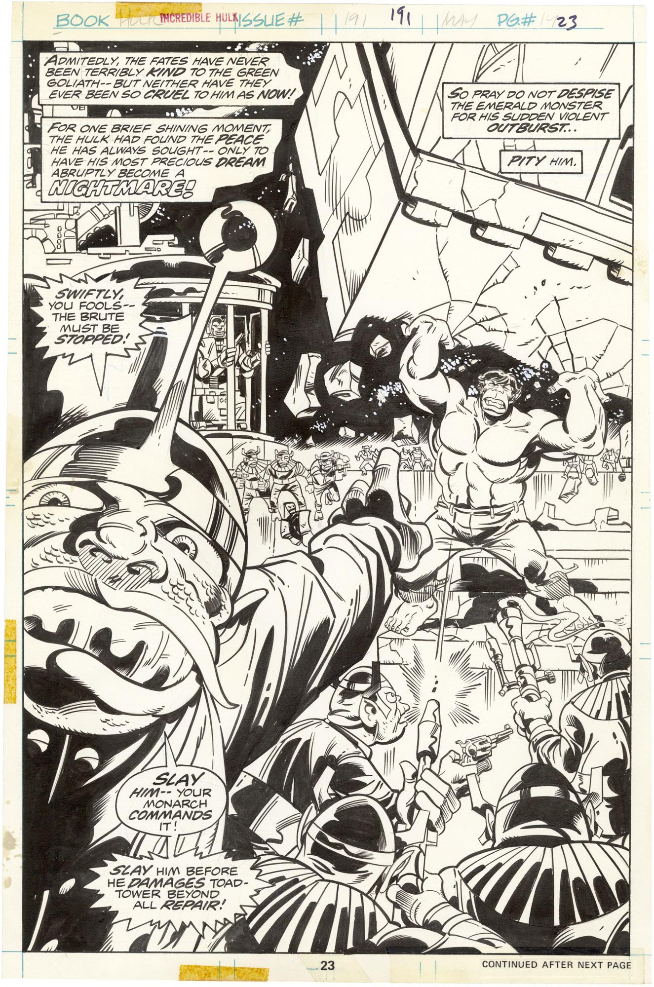 Incredible Hulk #191 p23