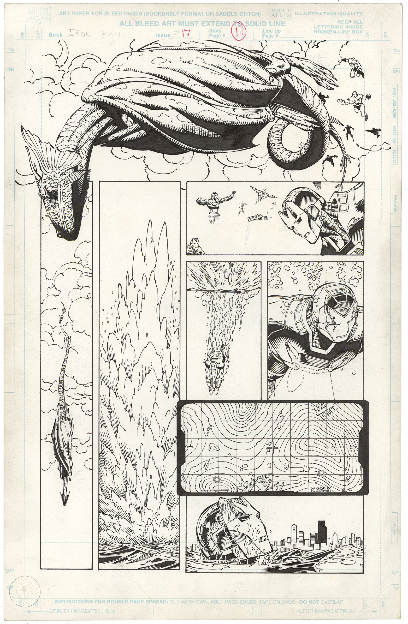 Iron Man, Vol 3 #17 p11 (Fin Fang Foom)