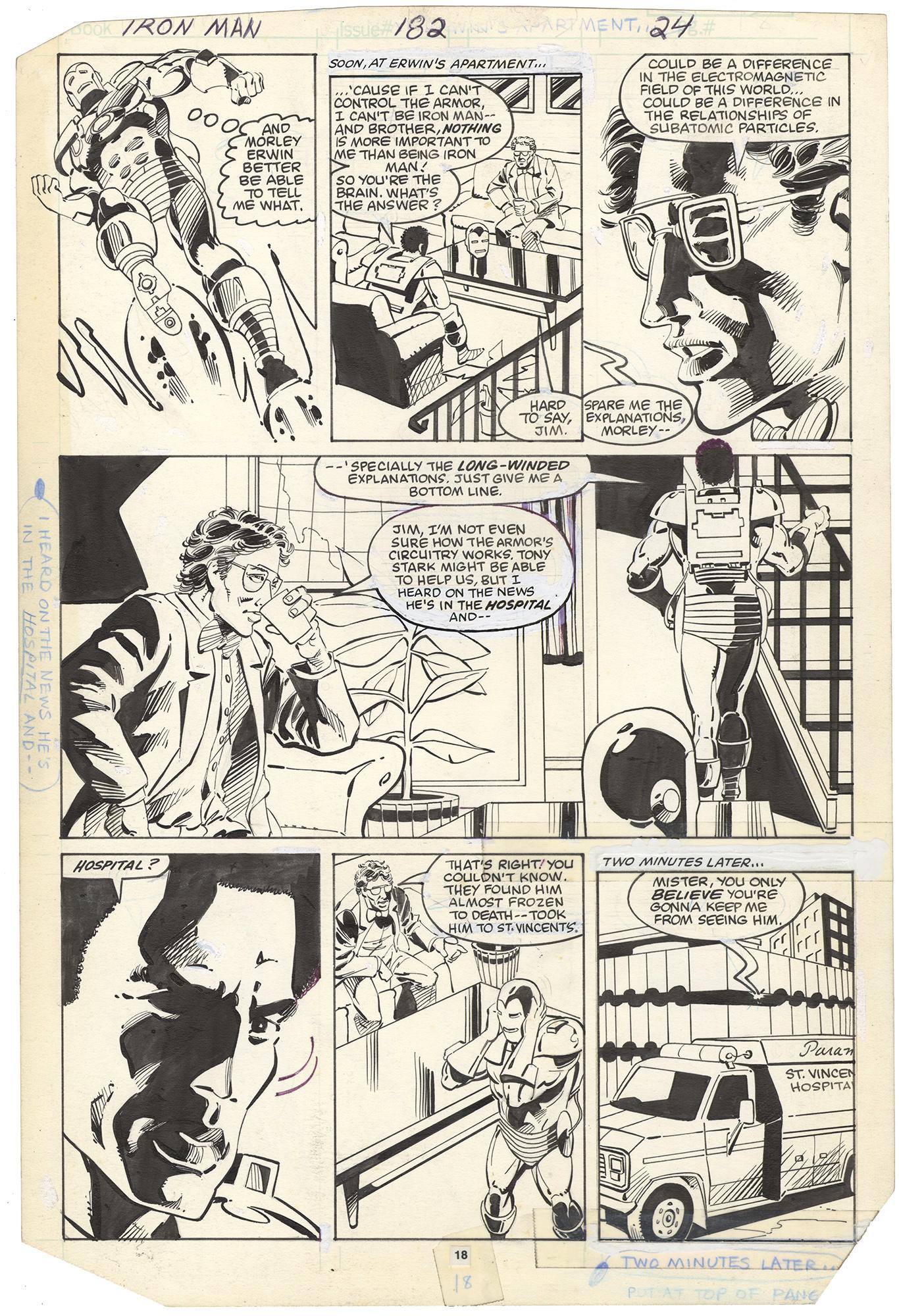 Iron Man #182 p18