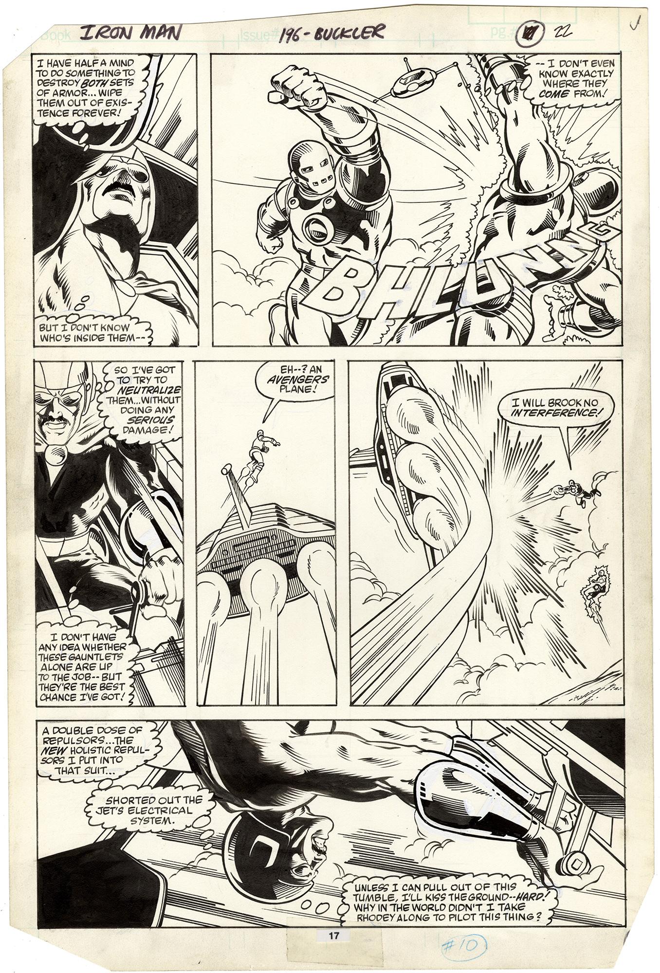 Iron Man #196 p17