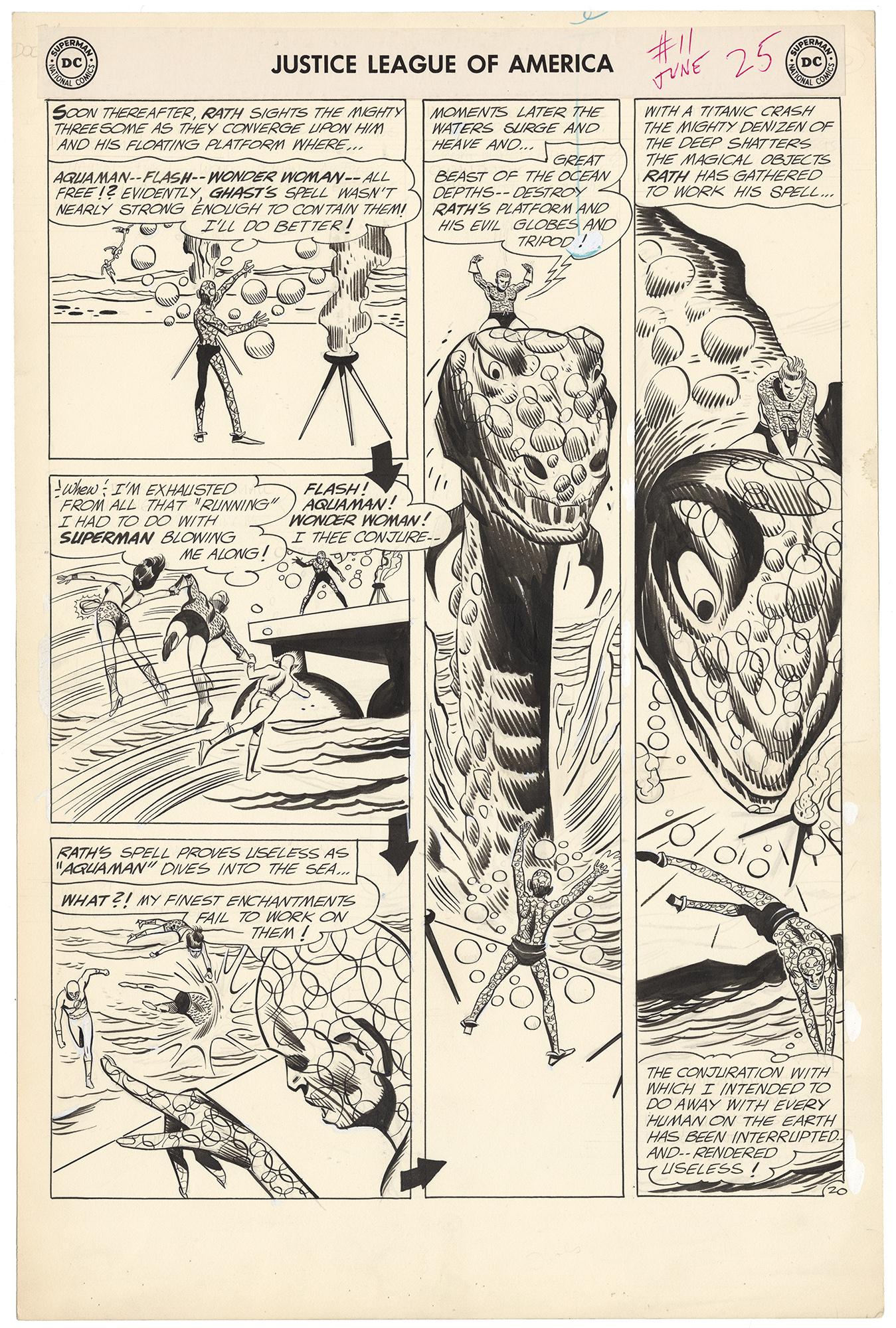 Justice League of America  #11 p20