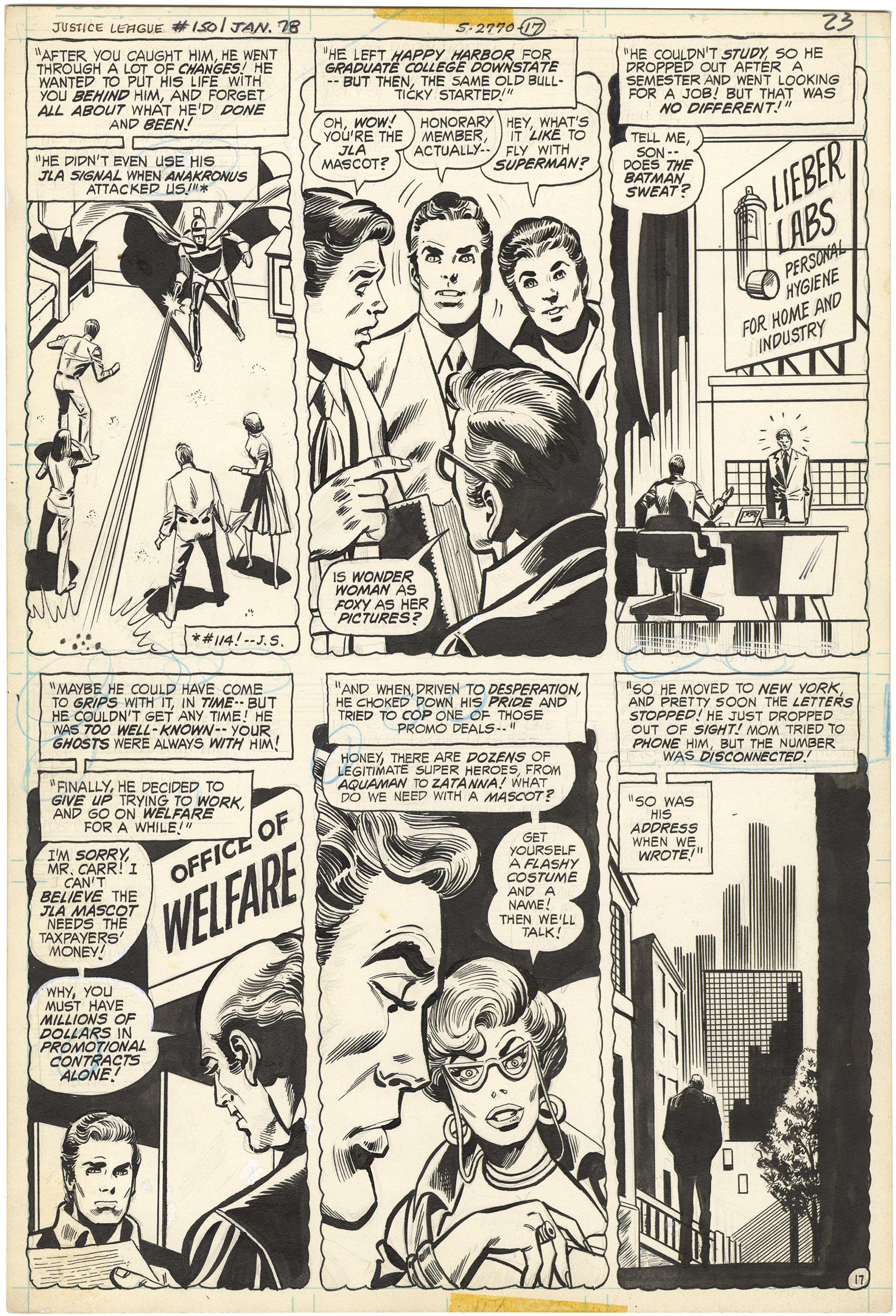 Justice League of America #150 p17