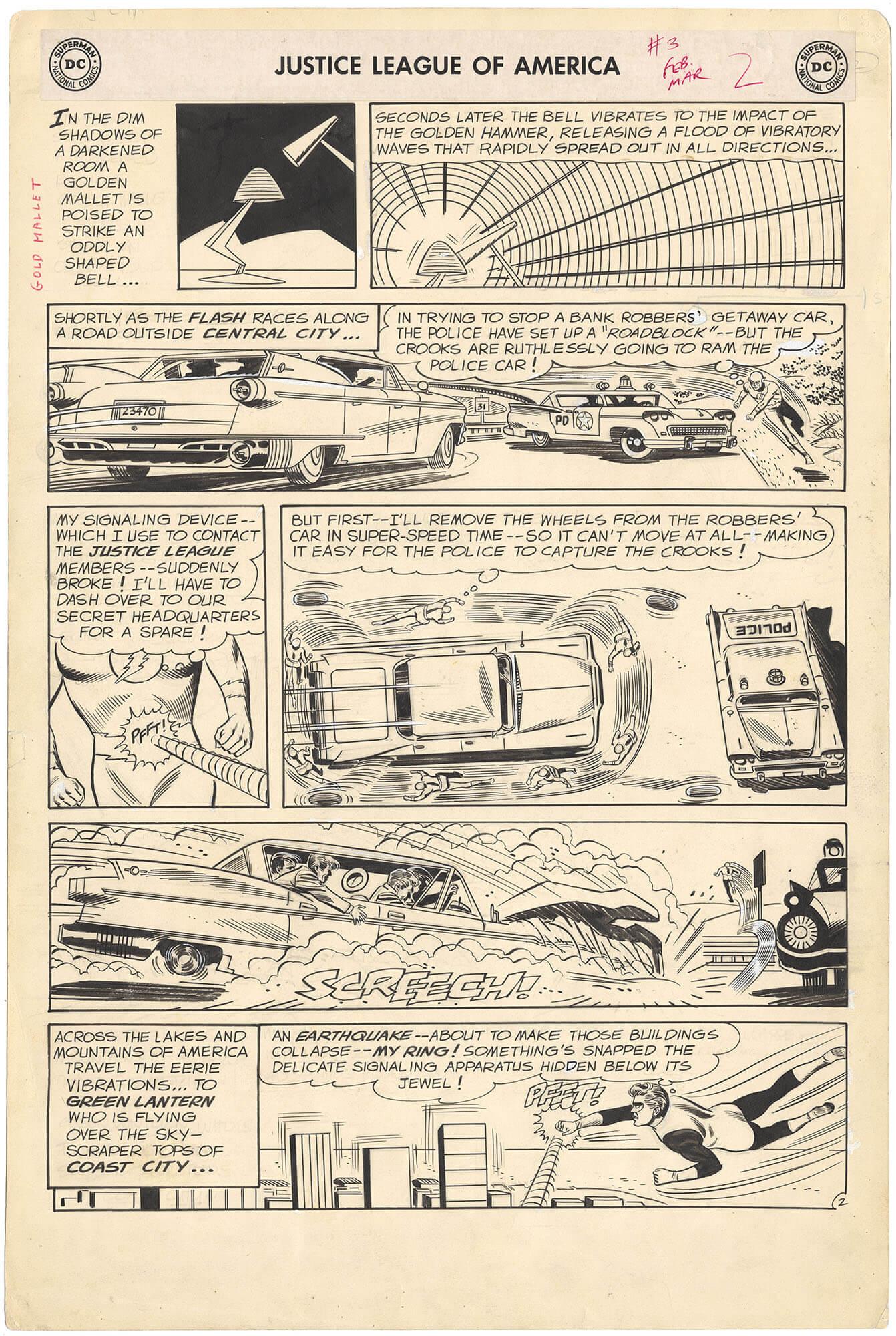 Justice League of America #3 p2 (Large Art)