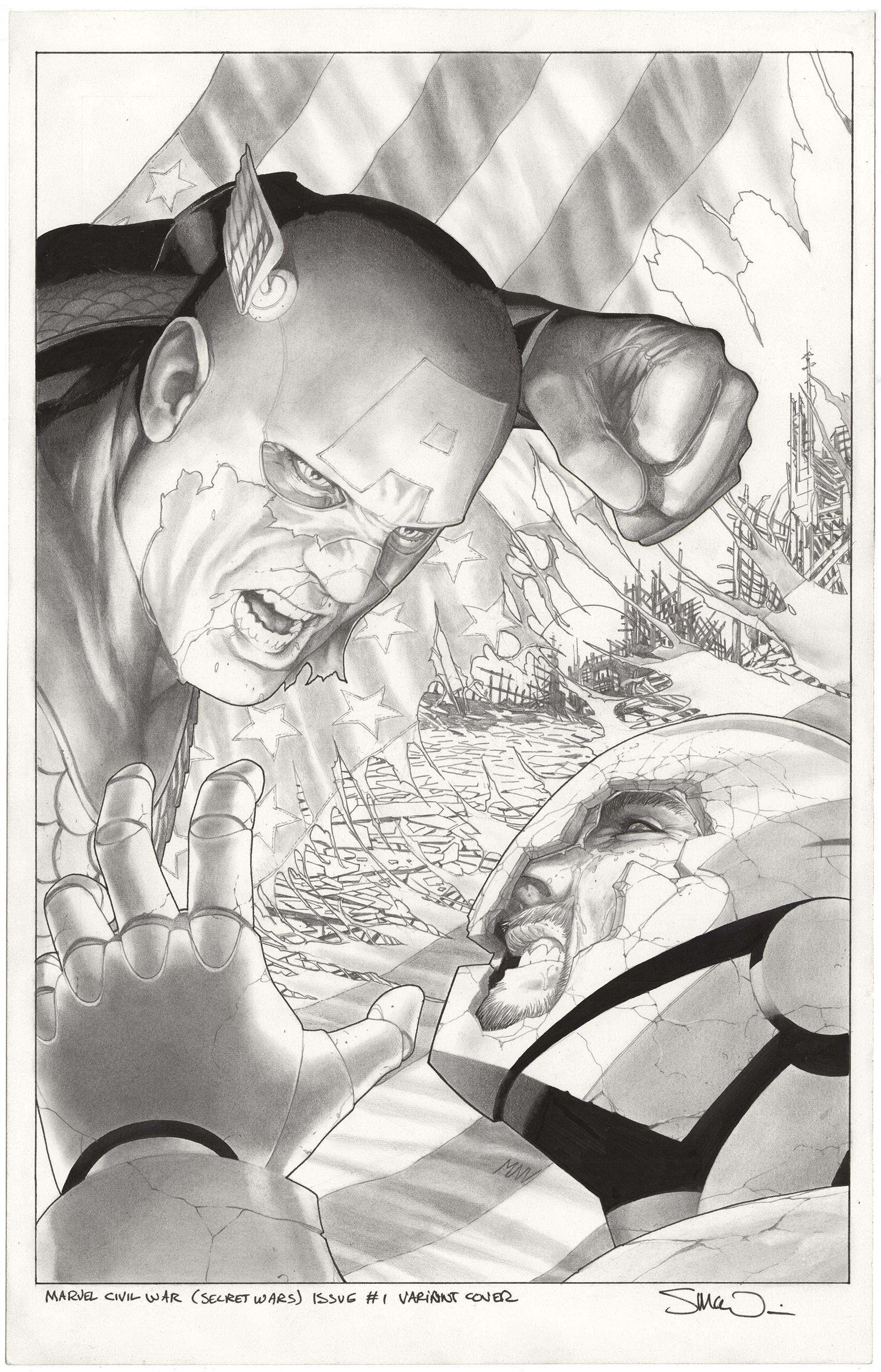 Secret Wars: Civil War #1 Variant Cover