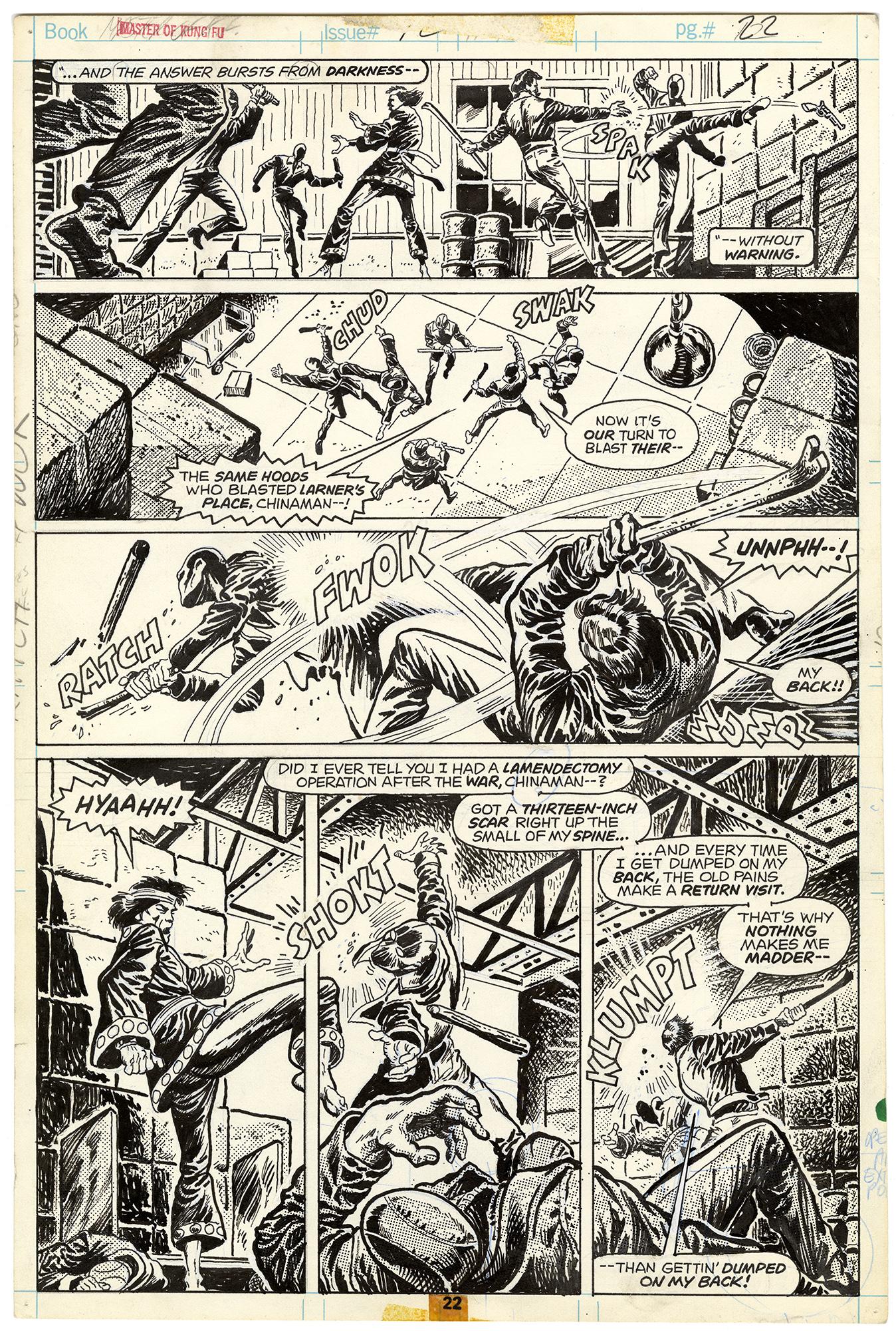 Master of Kung Fu #42 p22