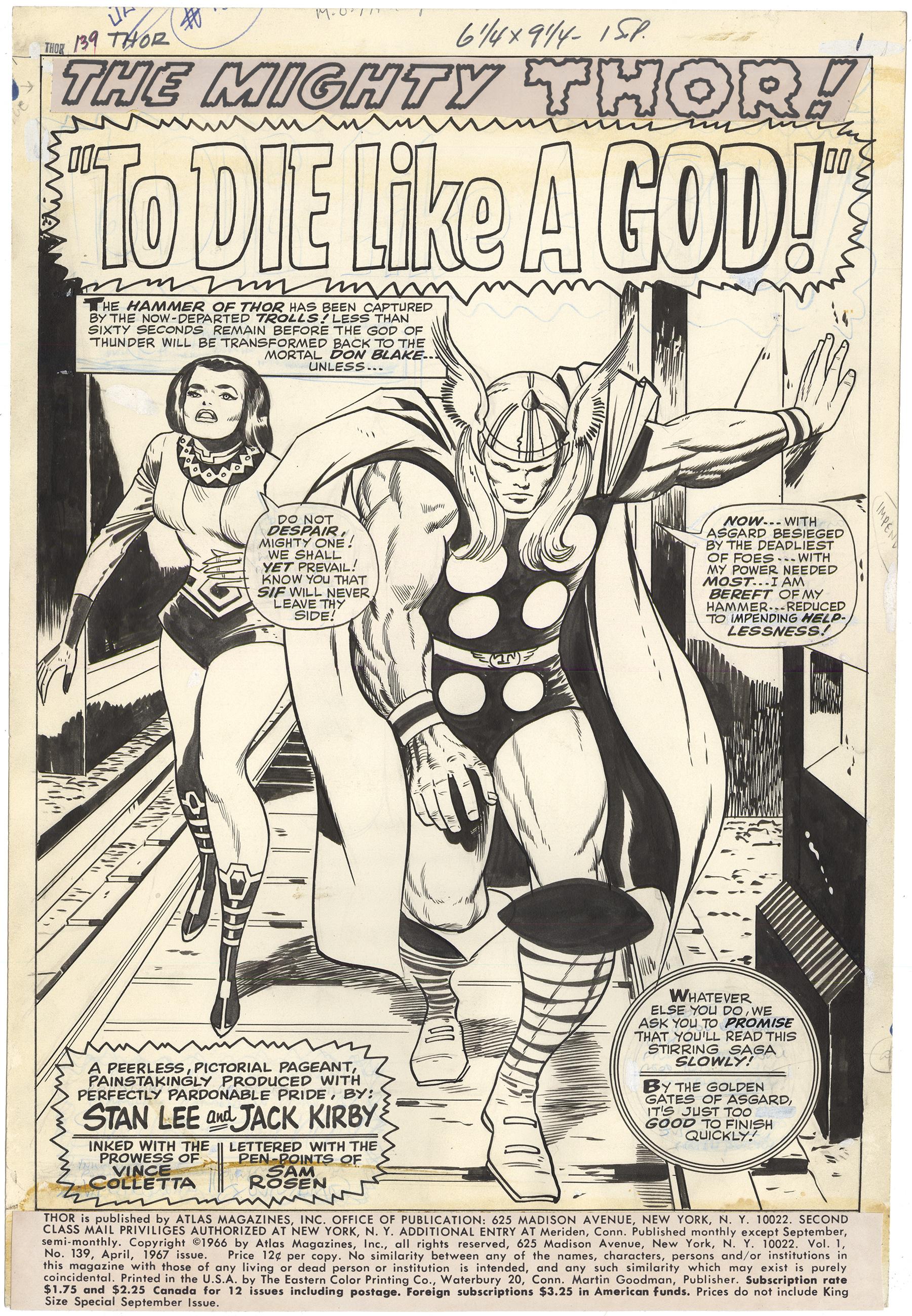 Thor #139 p1 (Large Art)