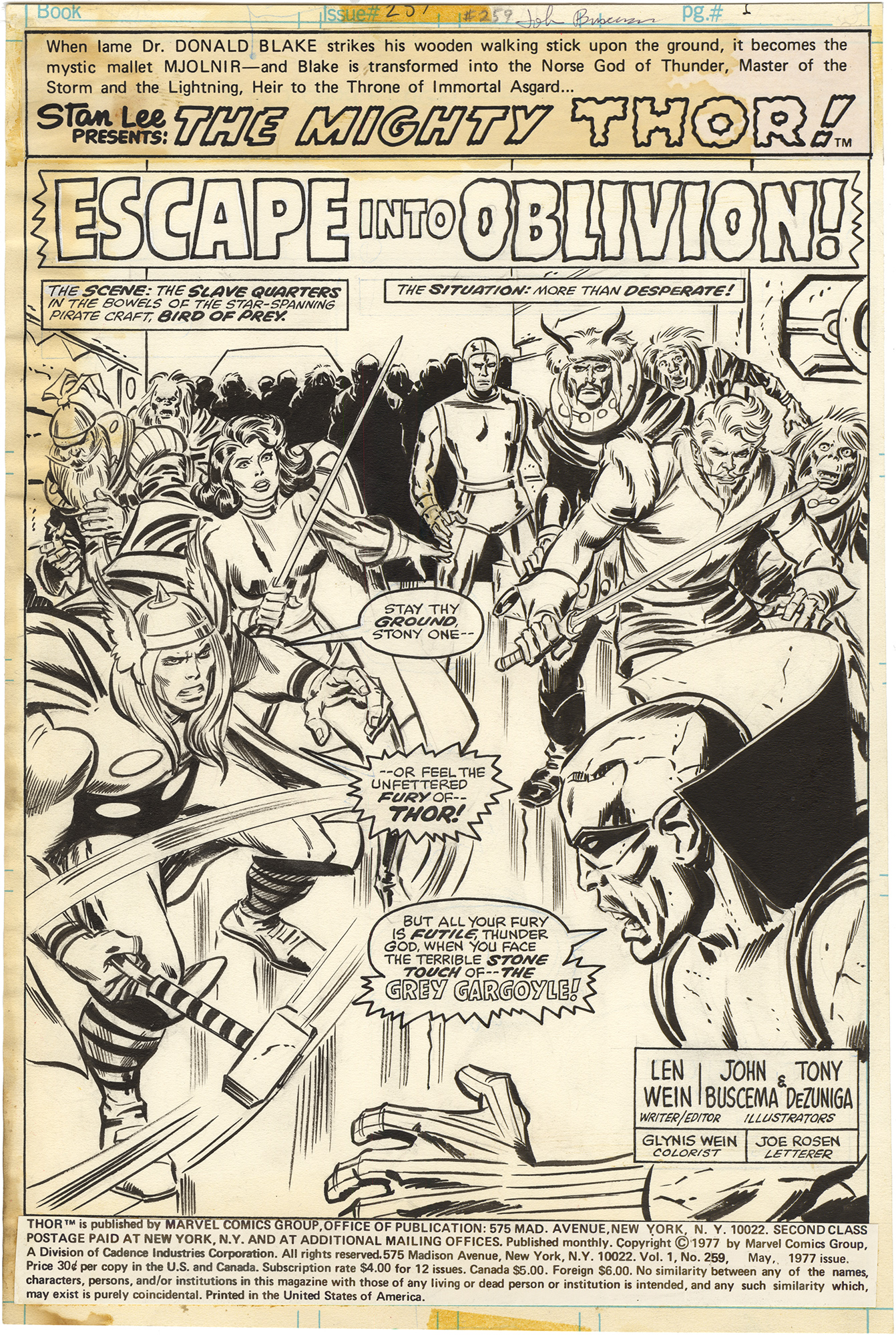 Thor #259 p1