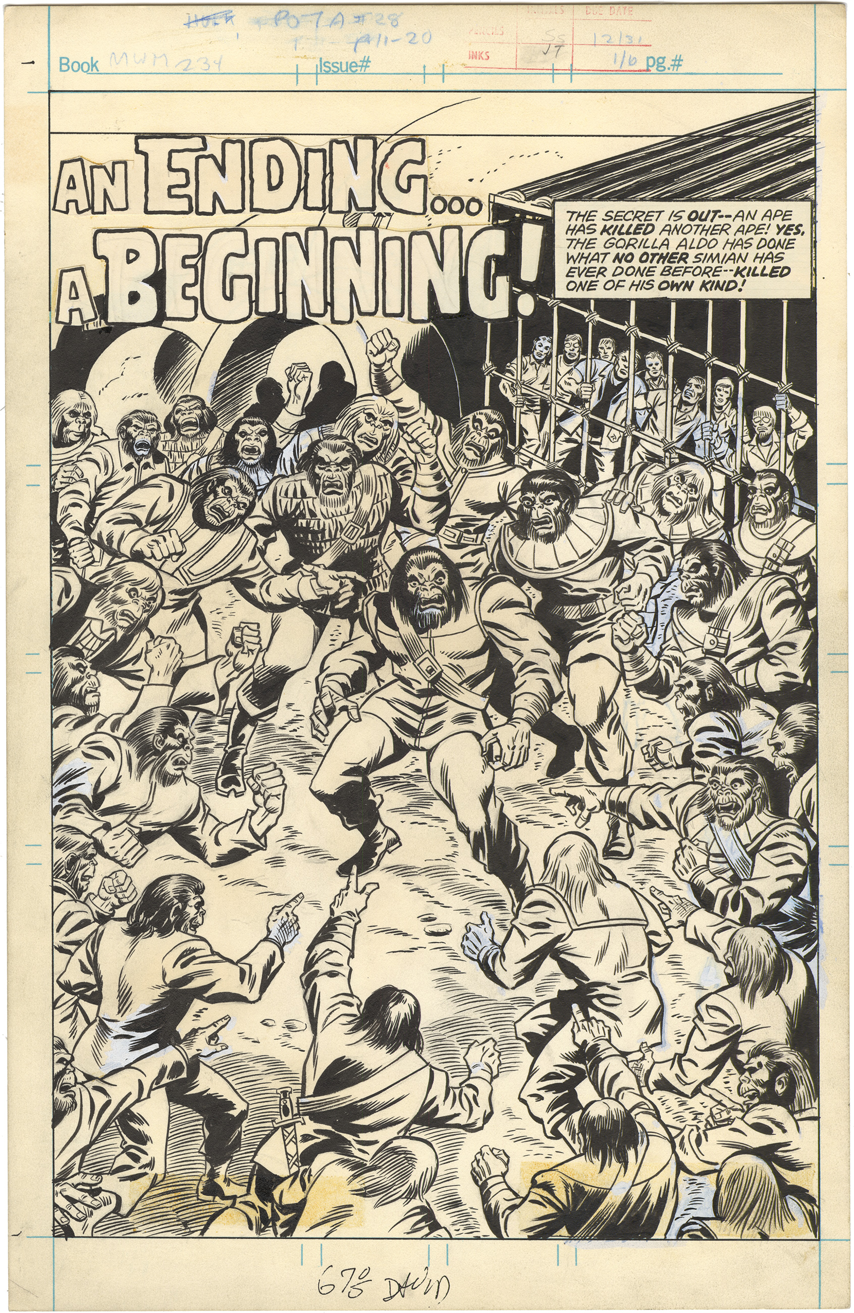 Mighty World of Marvel (Planet of the Apes) #234