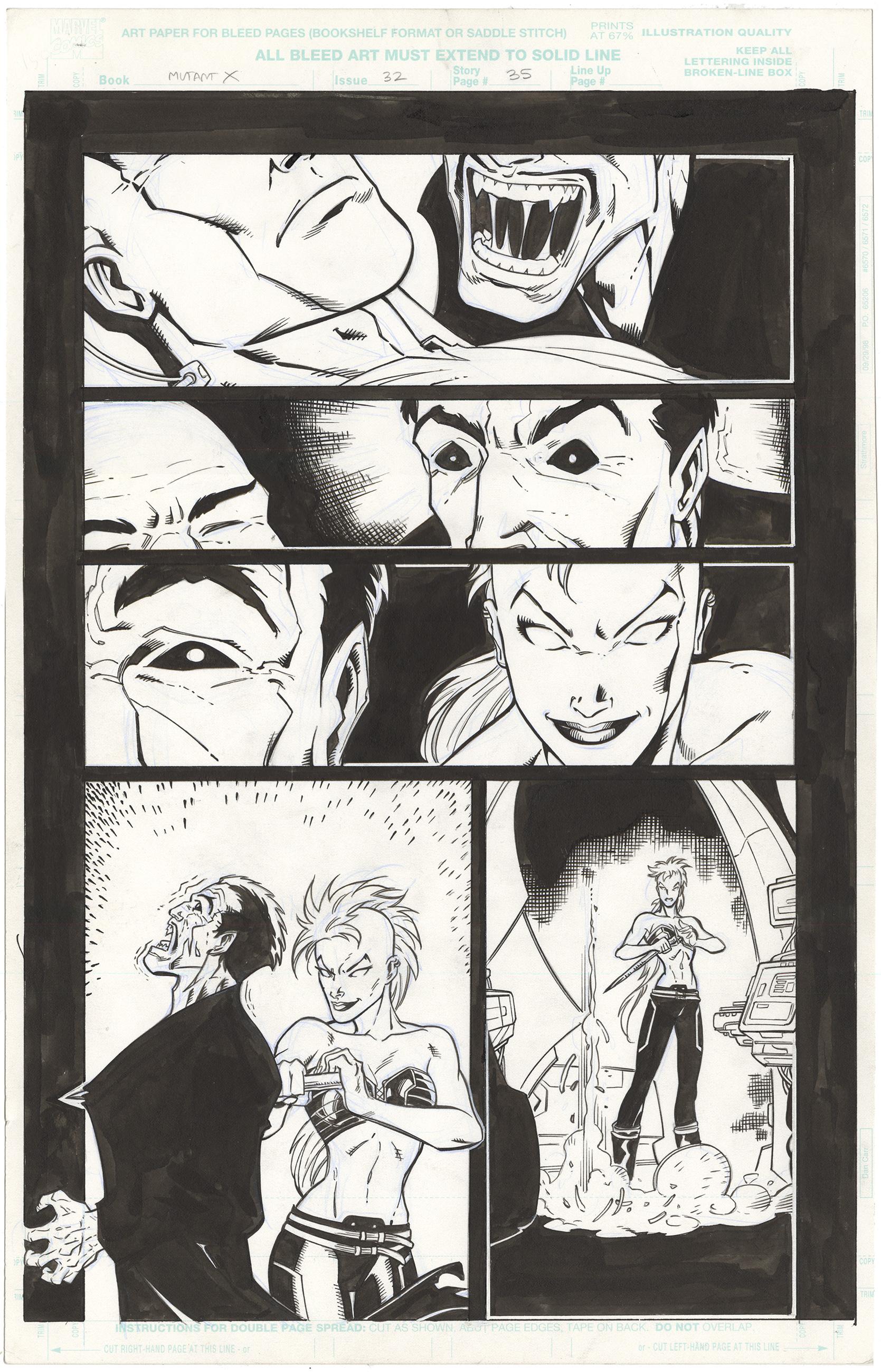 Mutant X #32 p35