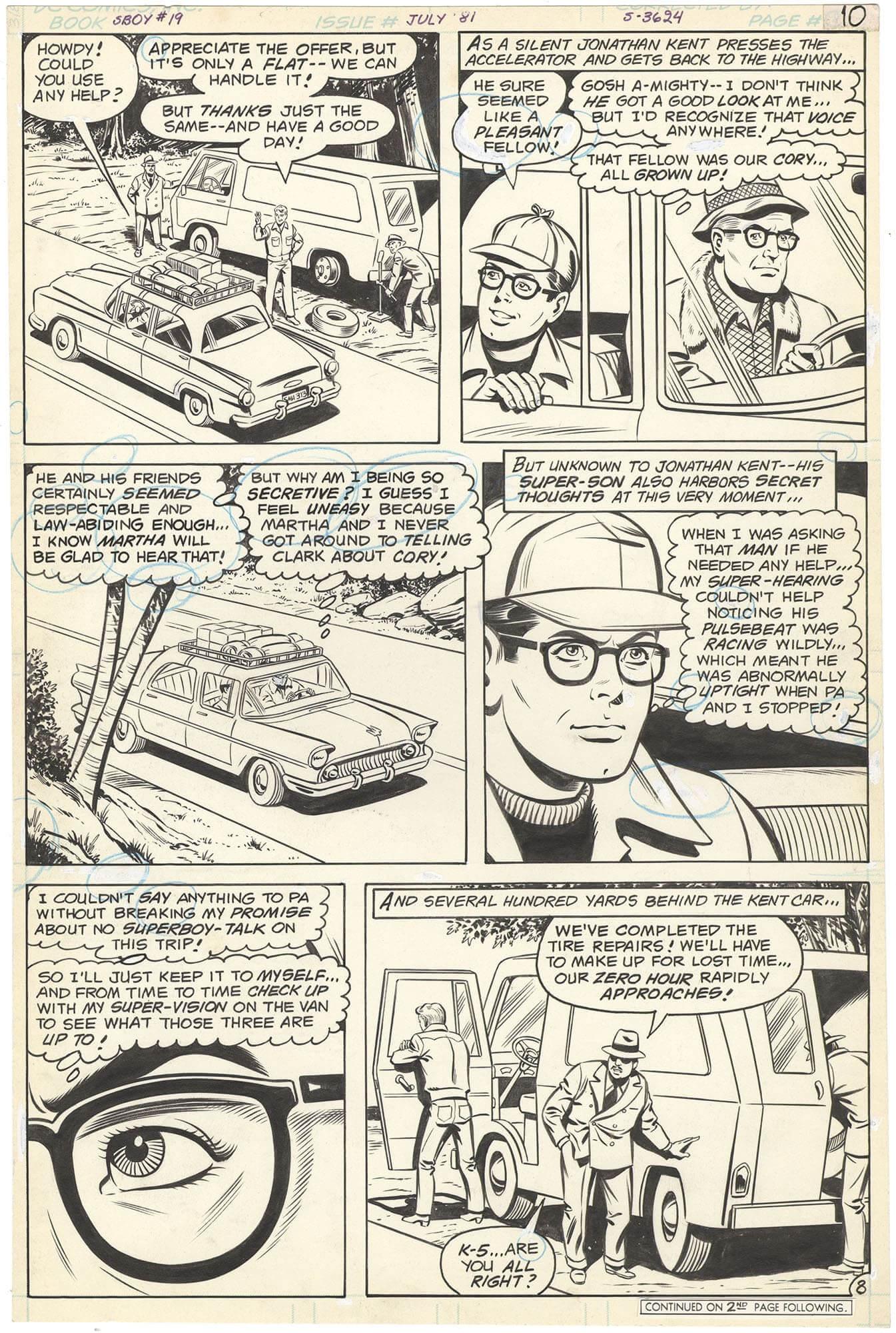 New Adventures of Superboy #19 p8