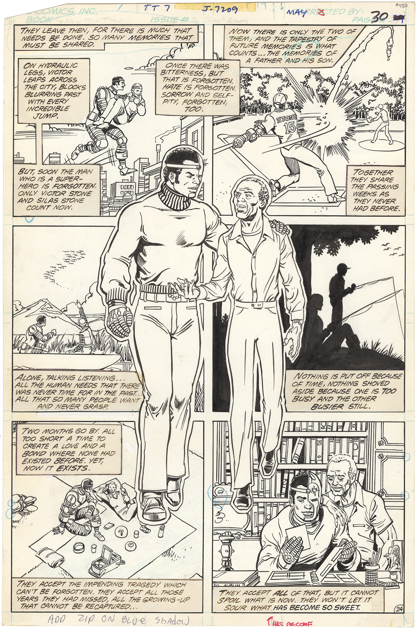 New Teen Titans #7 p24 (Cyborgs fathers end)