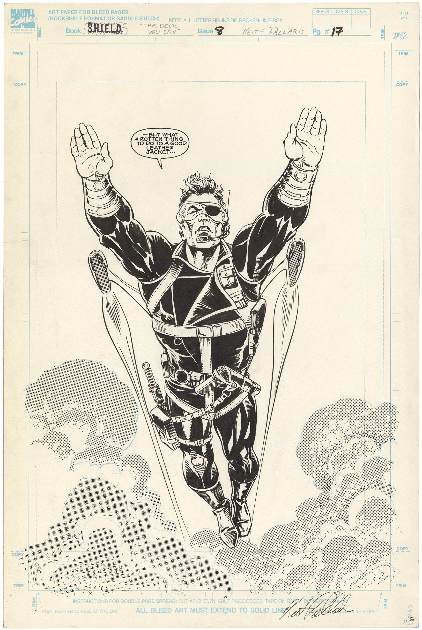 Nick Fury Agent of Shield #8 p17 (Large Art)