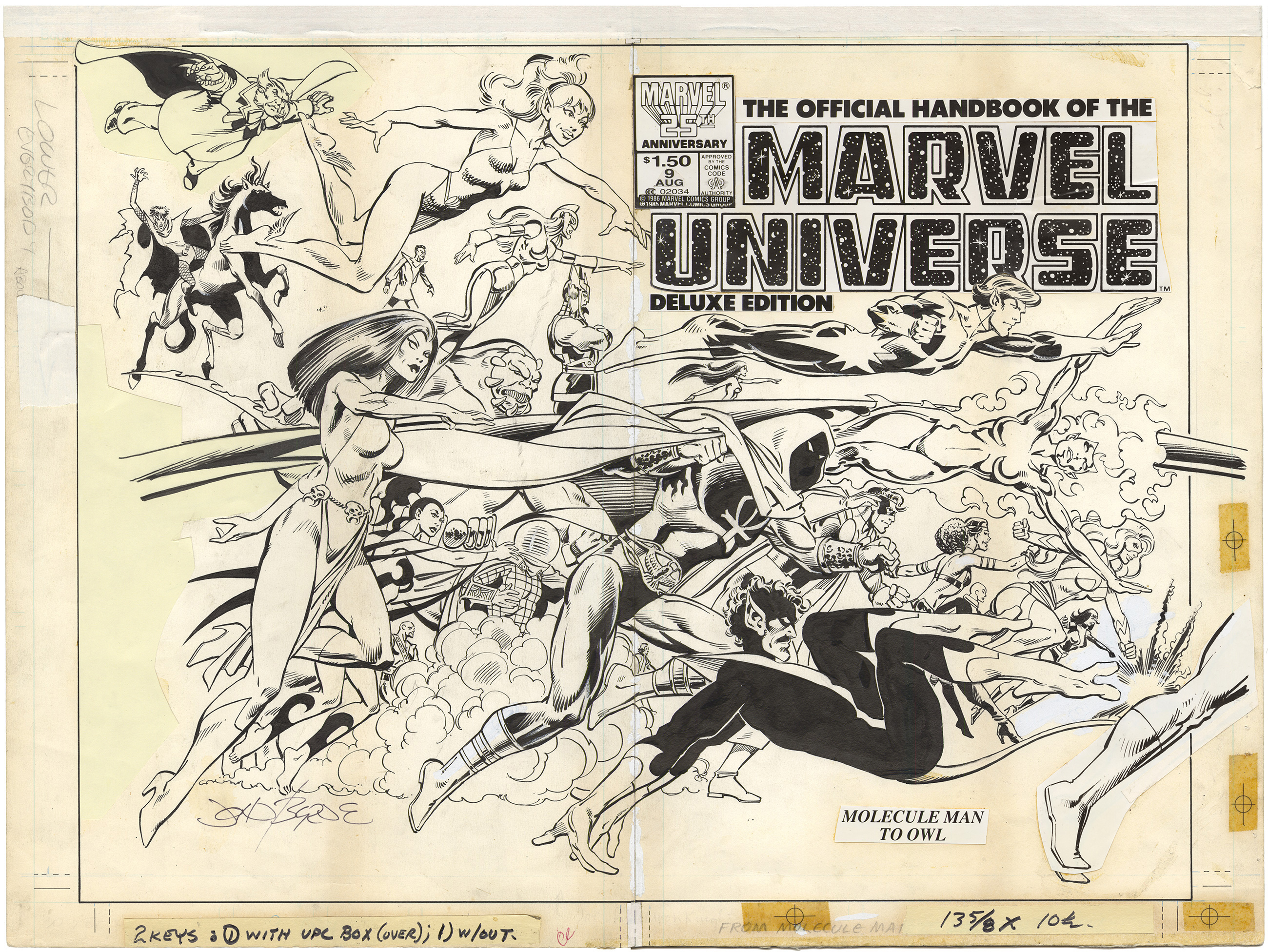 Official Handbook of the Marvel Universe #9 Cover