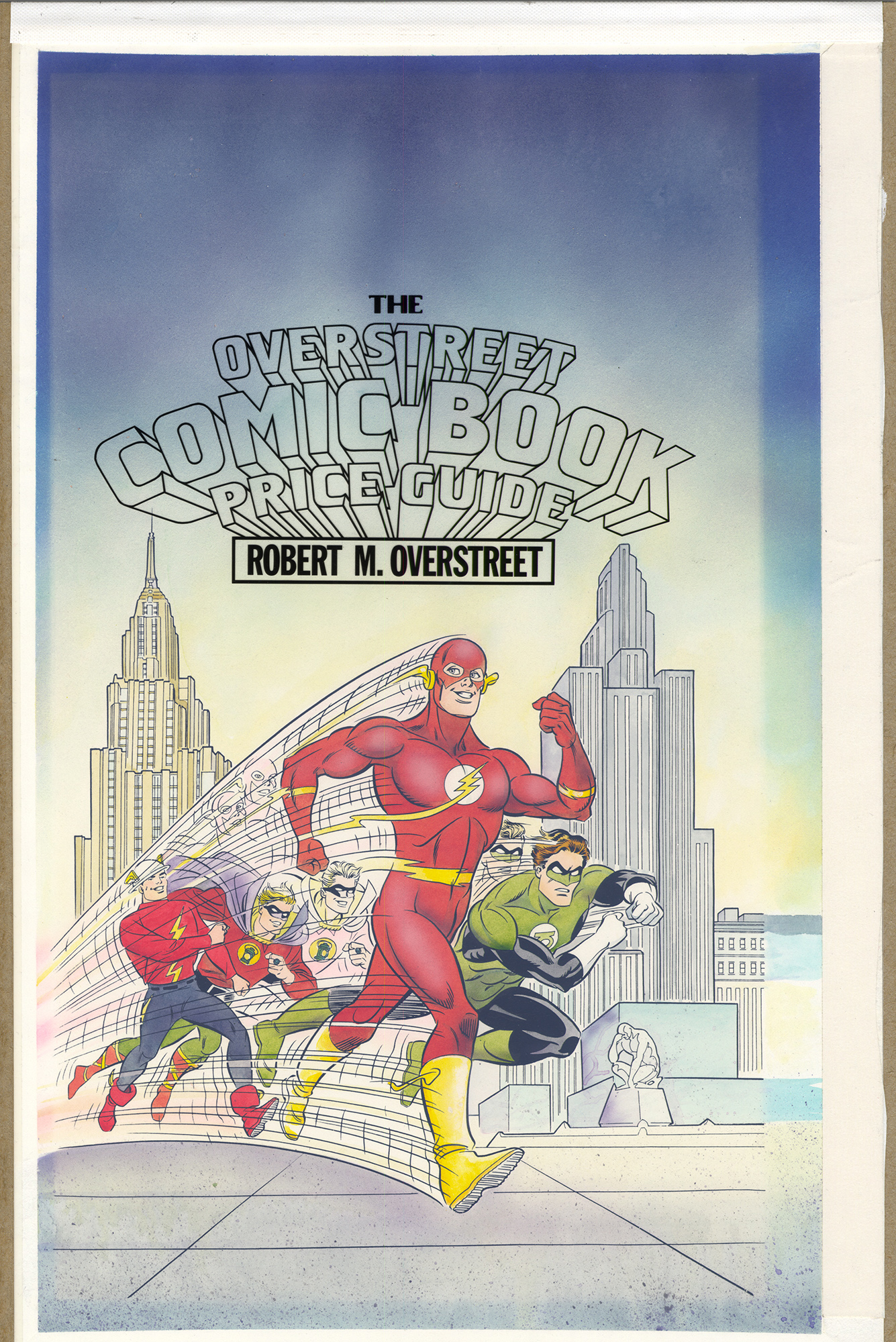 Overstreet Comic Book Price Guide 23rd Edition Cover