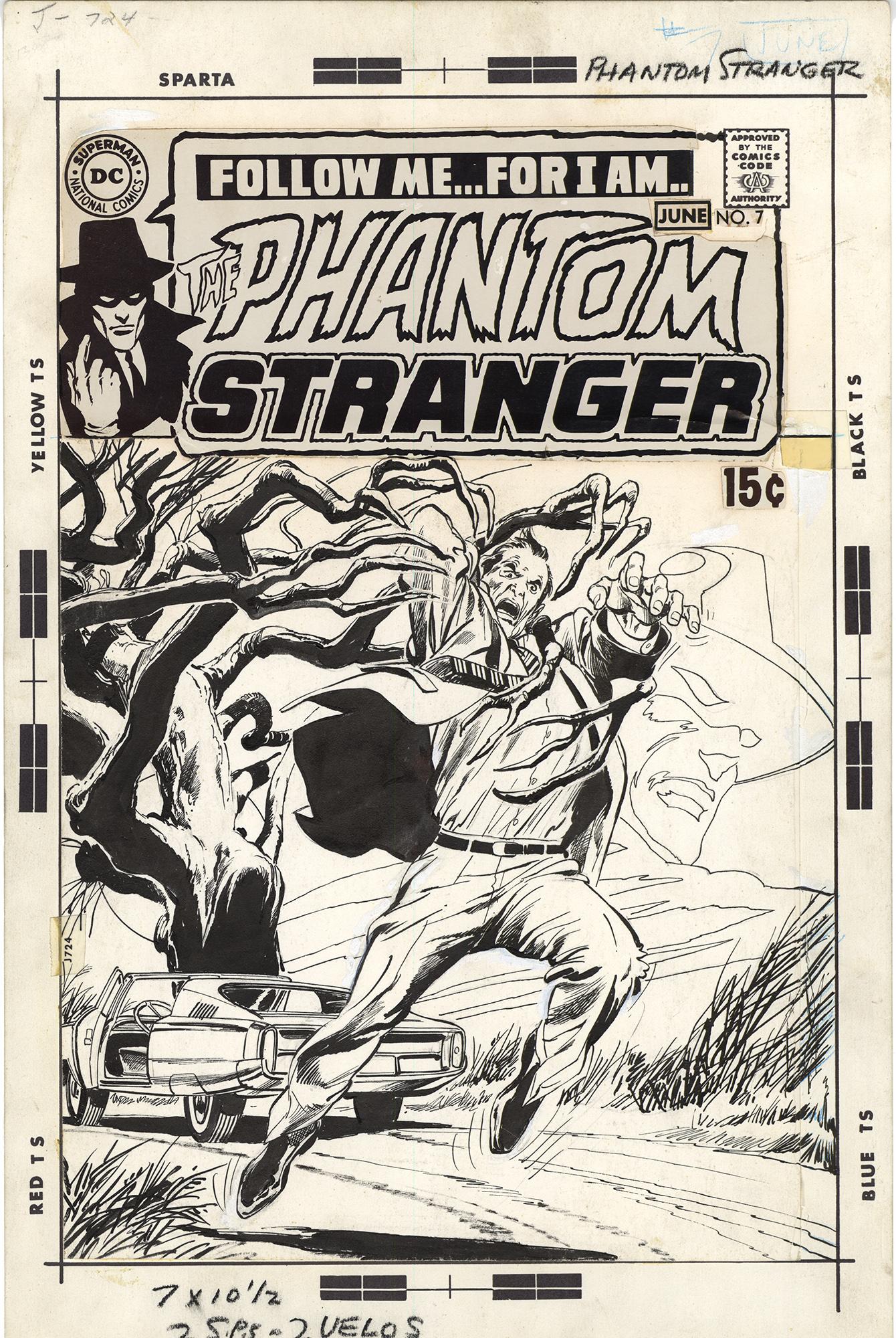 Phantom Stranger #7 Cover