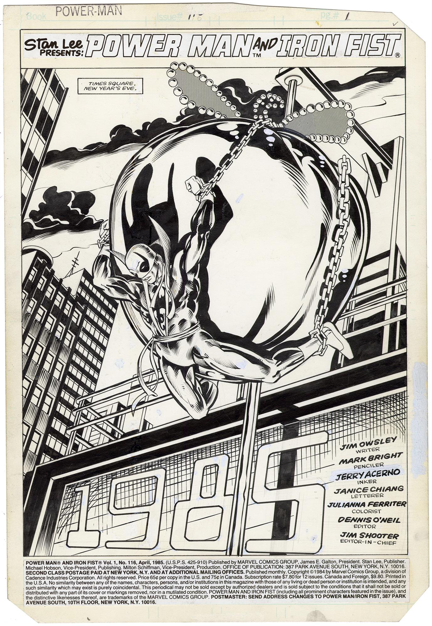 Power Man #116 p1