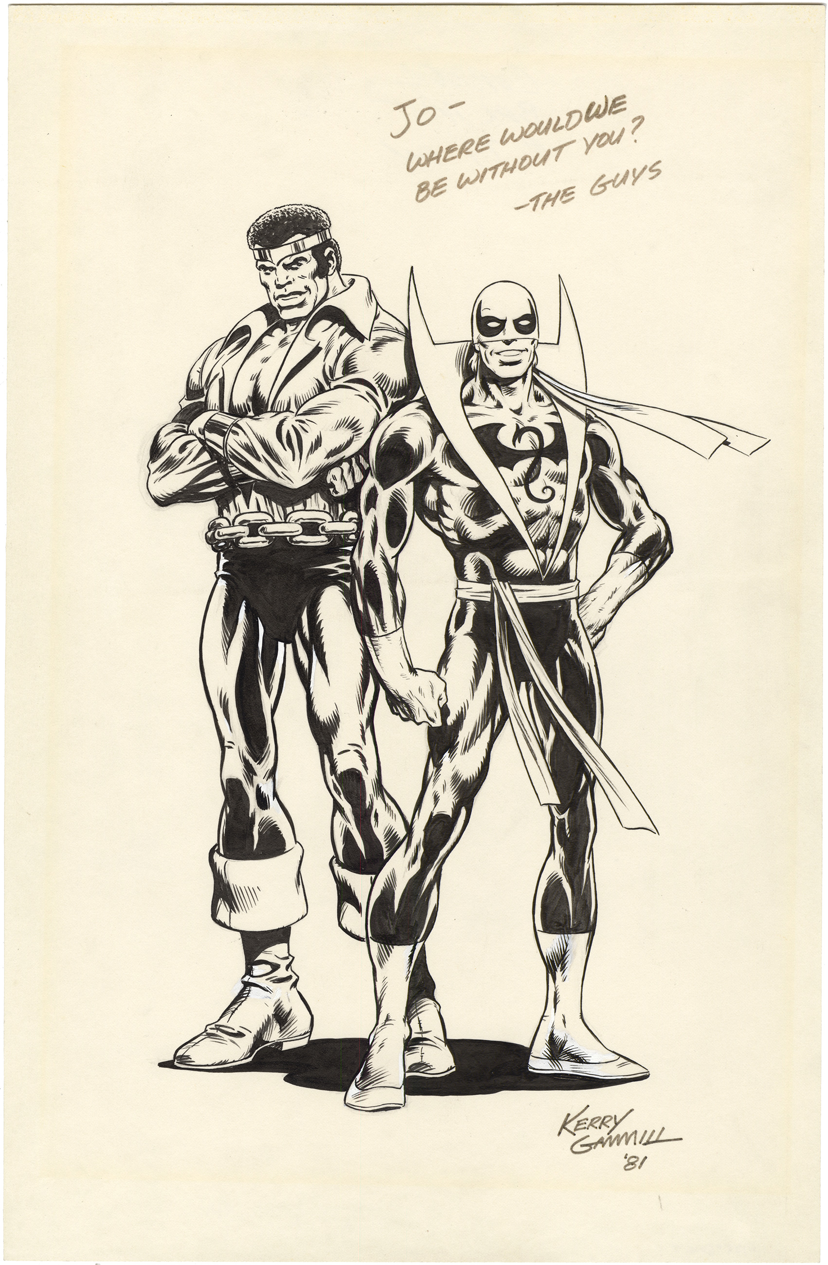 Power Man and Iron Fist - Corner Box Art