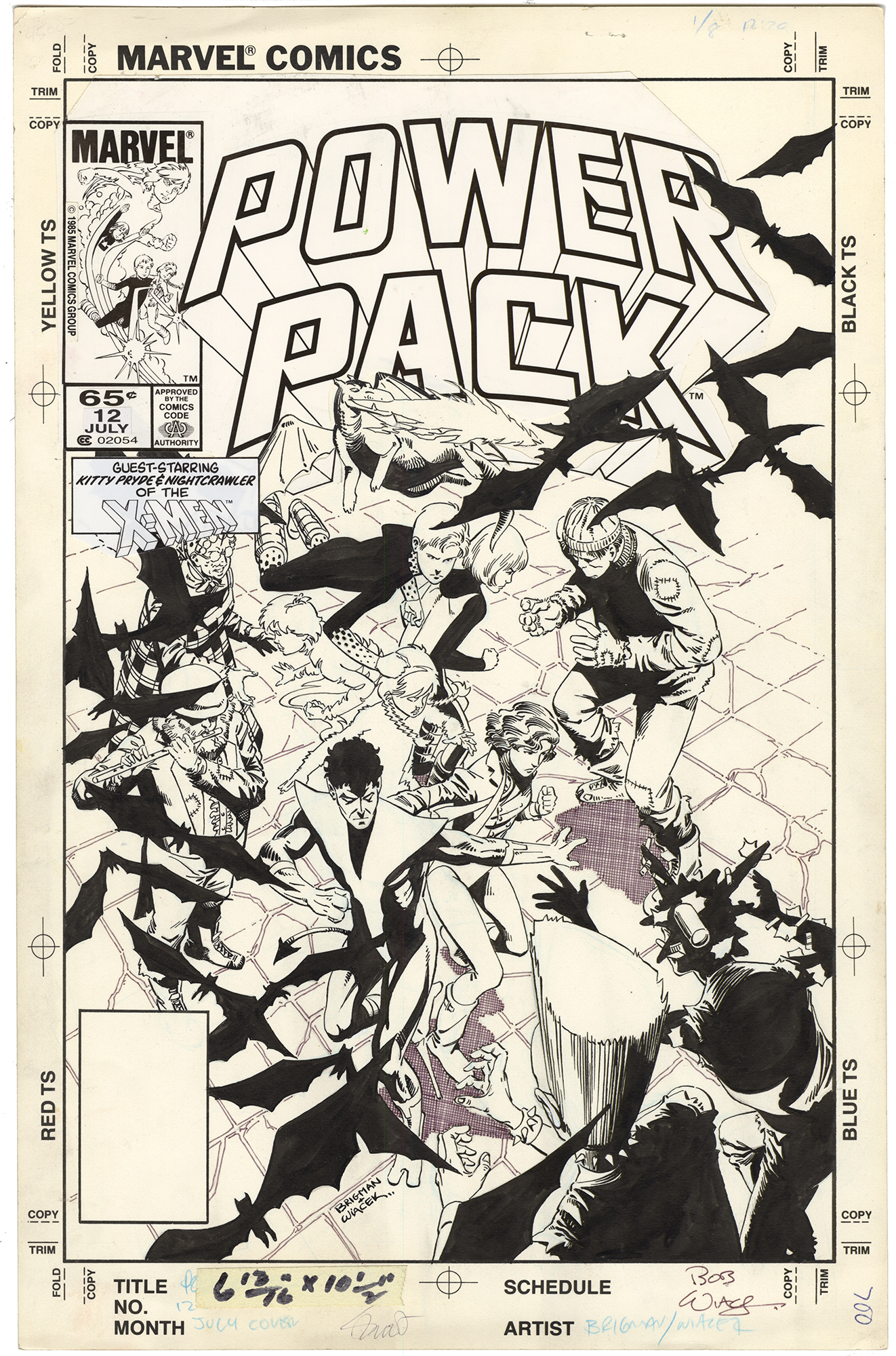 Power Pack #12 Cover