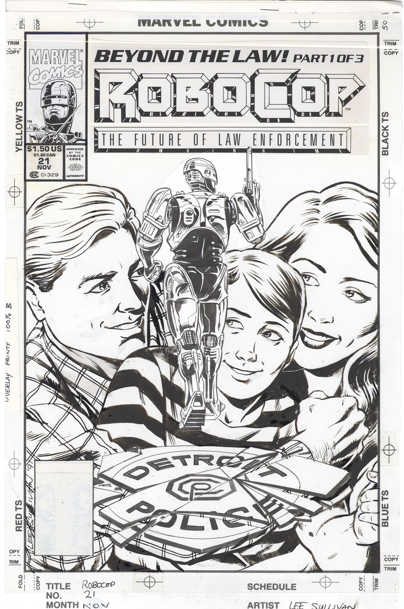 RoboCop #21 Cover