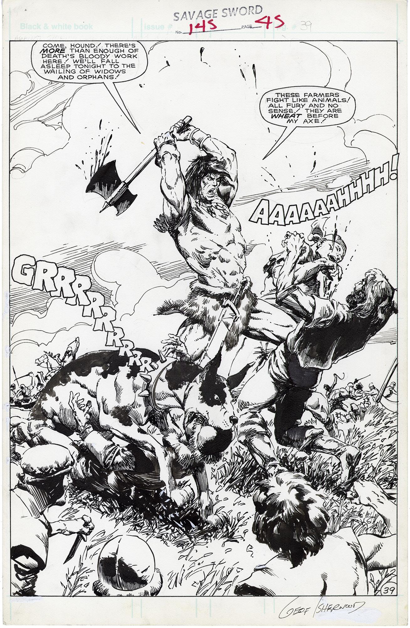 Savage Sword Of Conan #145 p39