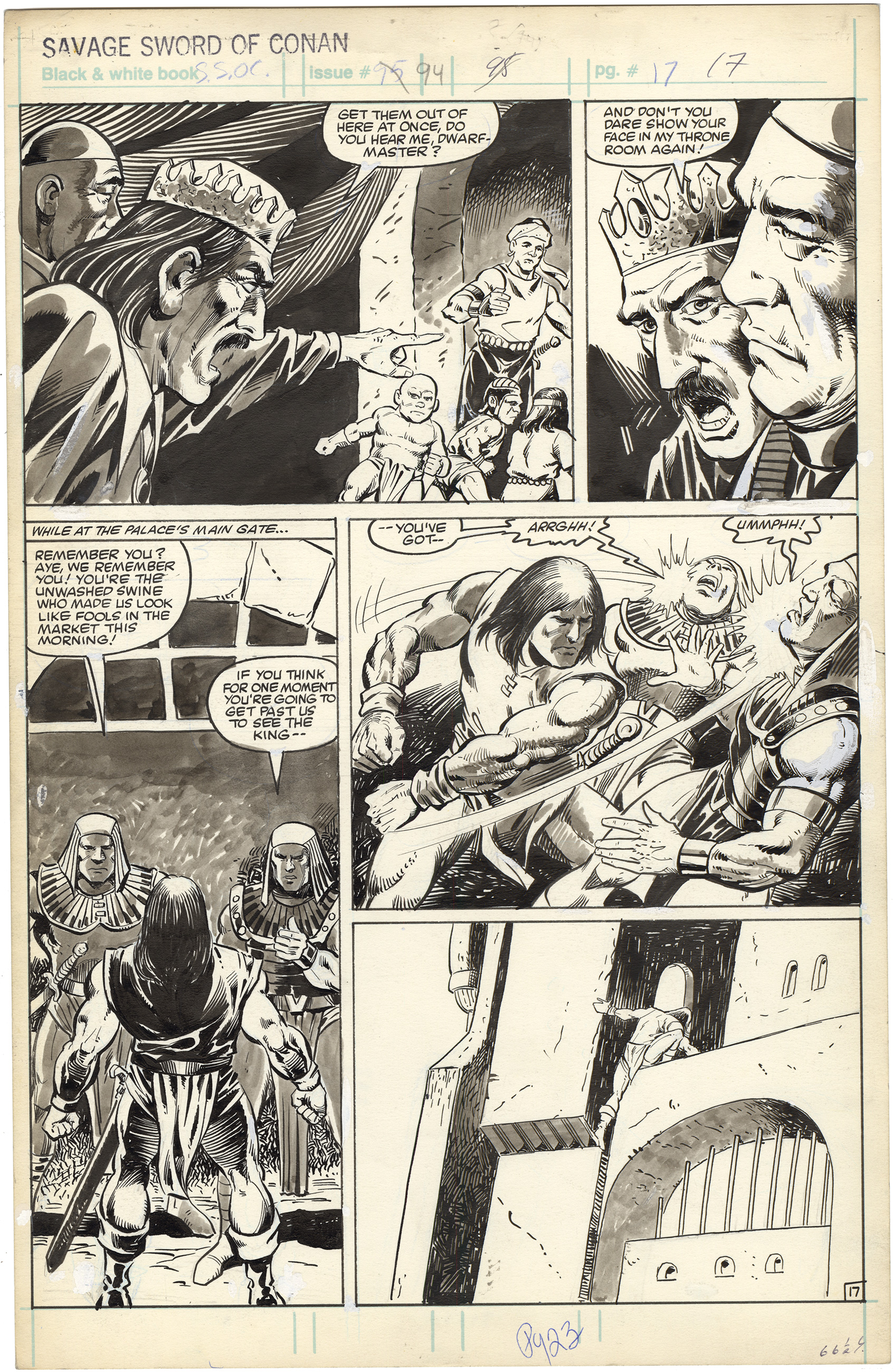 Savage Sword of Conan #94 p17