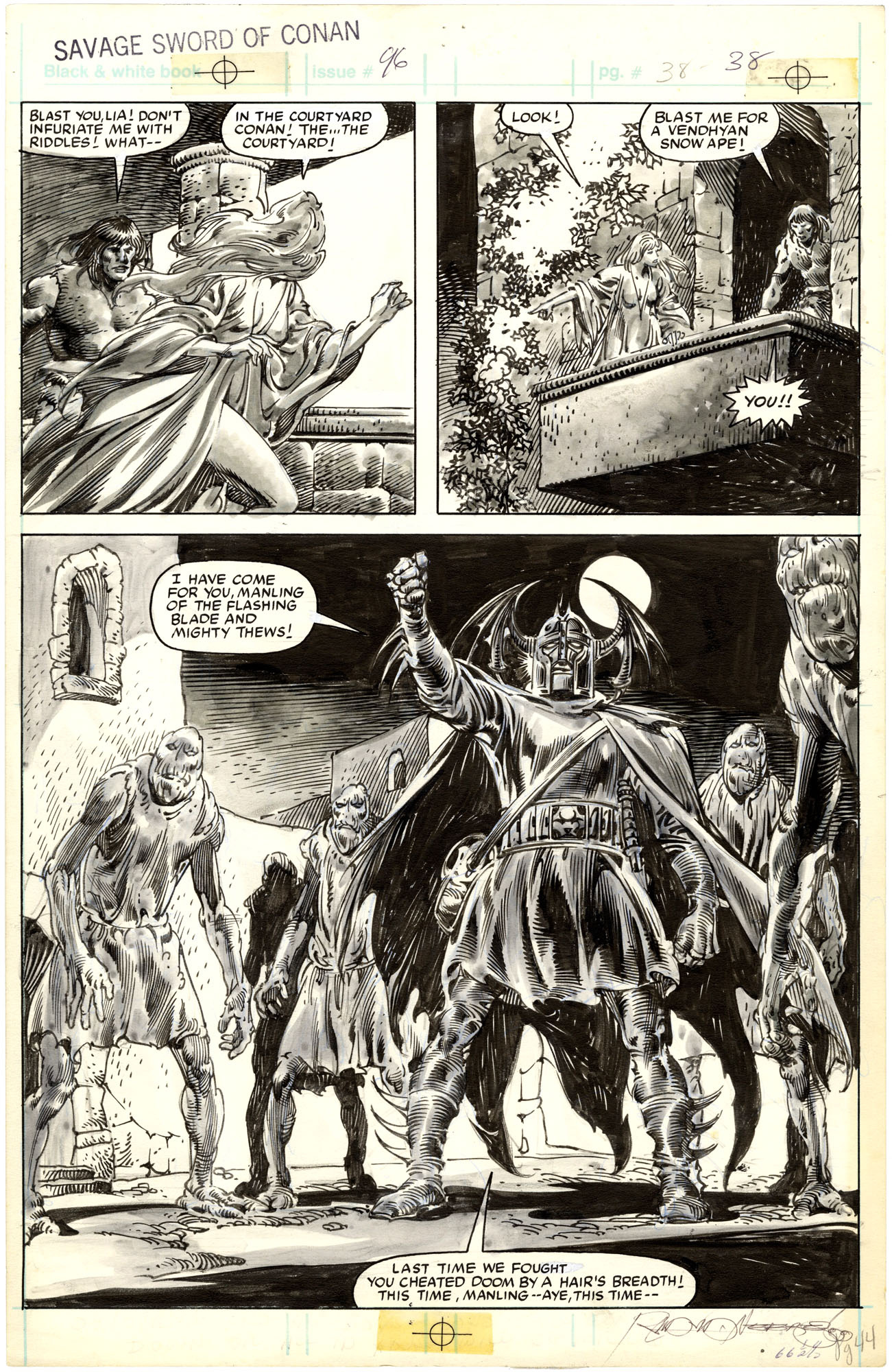 Savage Sword of Conan #96 p38
