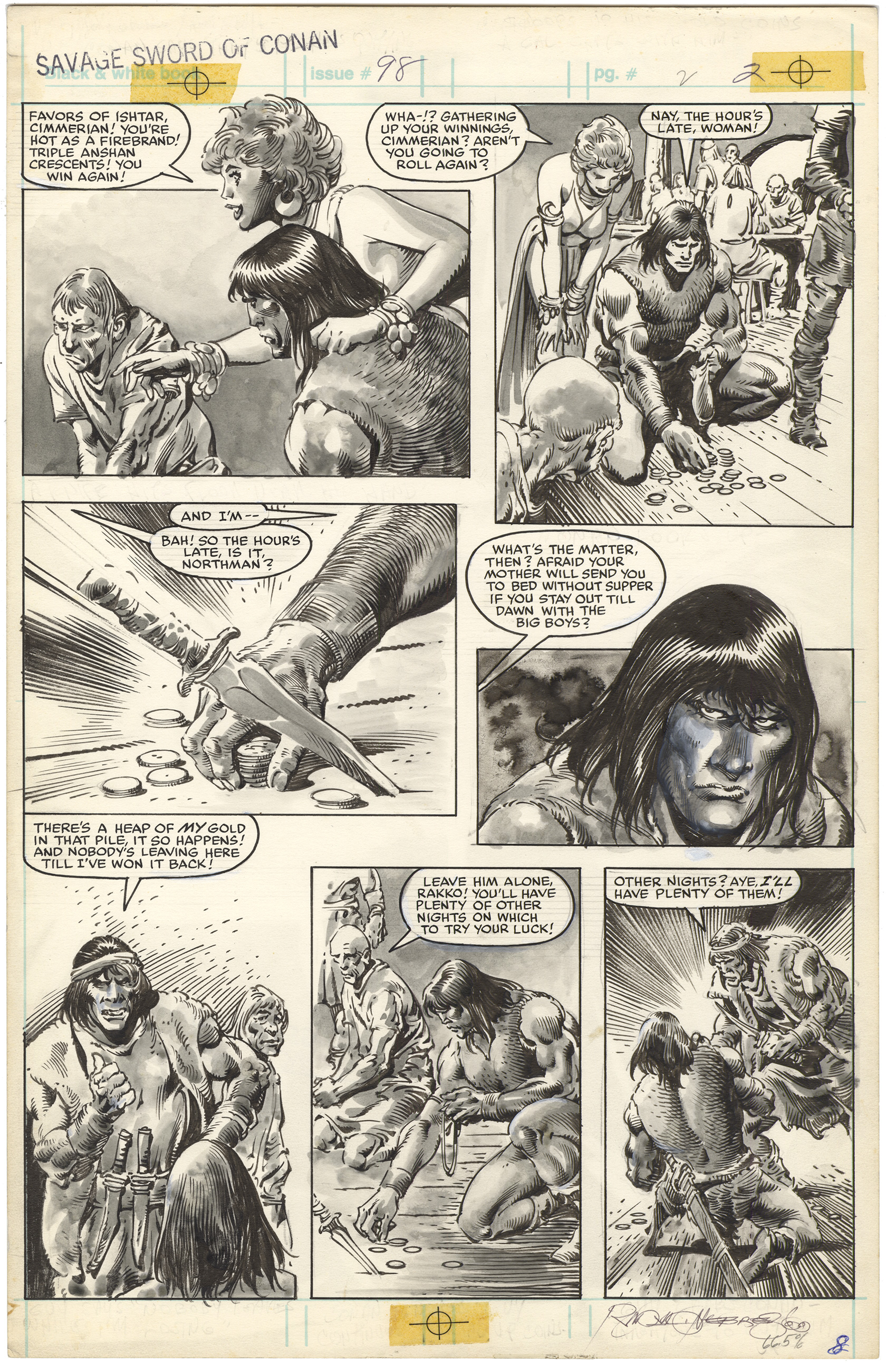 Savage Sword of Conan #98 p2