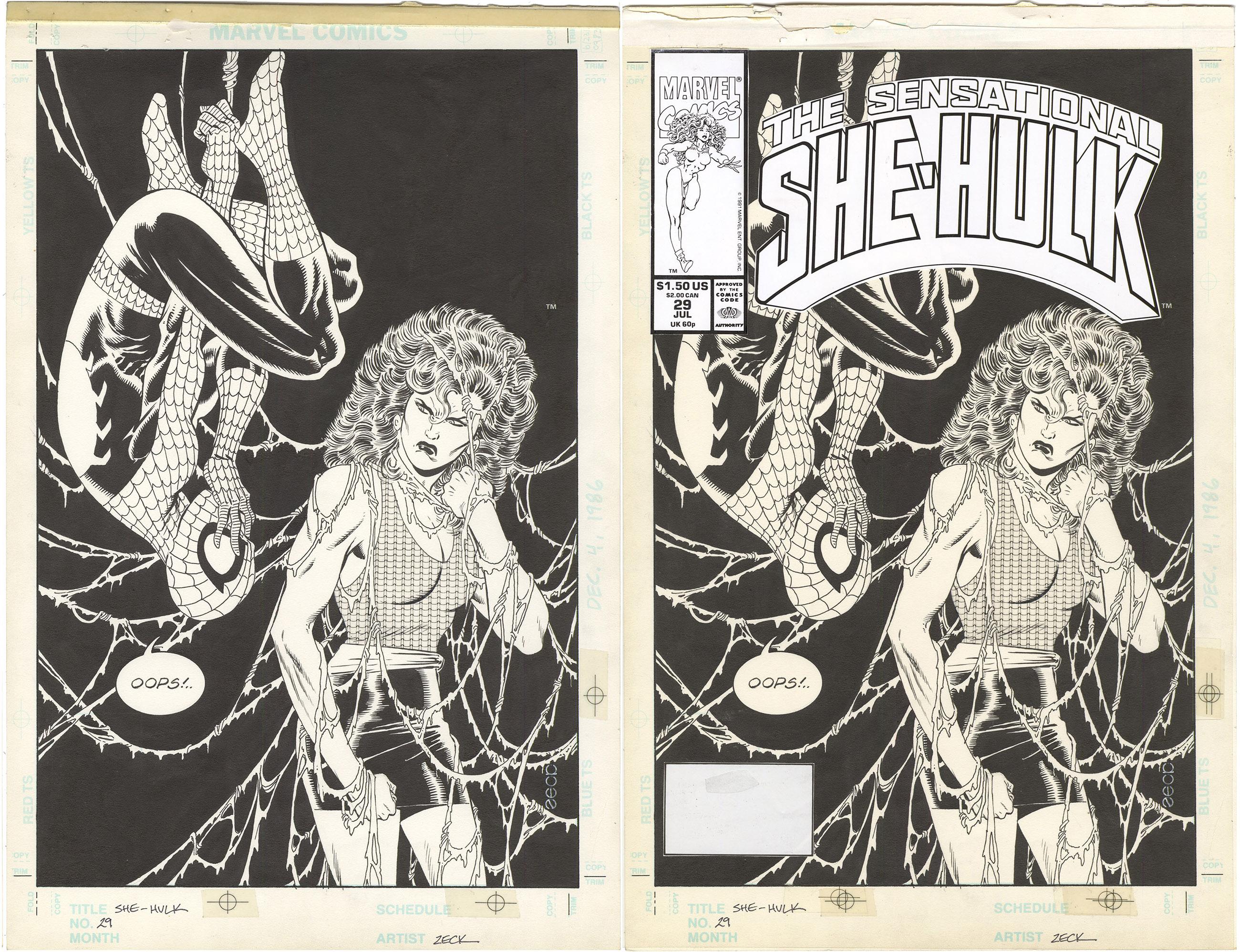 Sensational She-Hulk #29 Cover